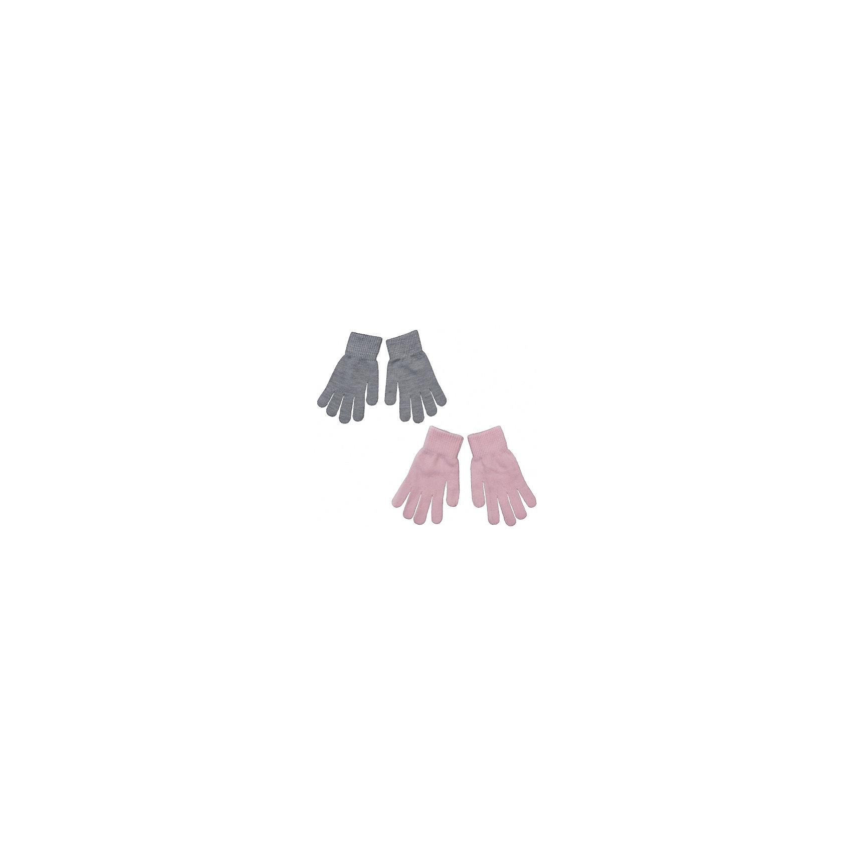 Перчатки, 2 пары для девочки S'cool