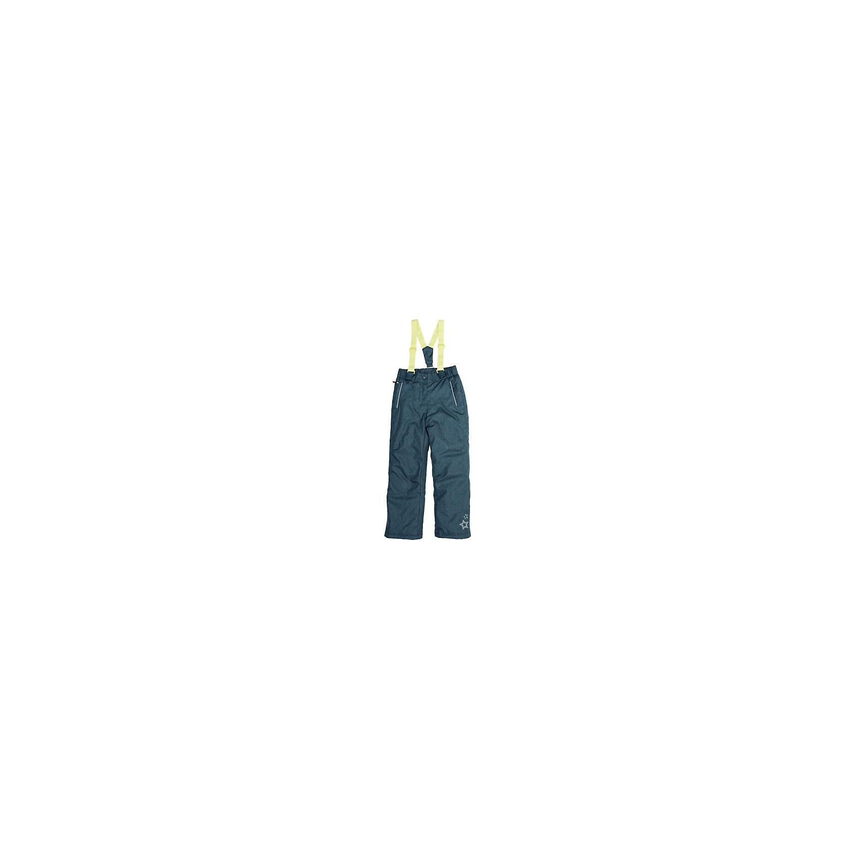 Брюки для девочки ScoolВерхняя одежда<br>Полукомбинезон для девочки Scool – идеальный вариант для любой погоды.<br>Утепленные брюки с бретелями, регулируемыми по длине. Сделан полукомбинезон из непромокаемого материала. Низ штанин затягивается стоперами. Есть специальная подкладка, надевающаяся на сапоги, против попадания снега. Два кармана на молнии также защищены от попадания снега. Полукомбинезон застегивается на молнию и кнопку с липучкой. <br><br>Дополнительная информация:<br><br>- материал: верх – 100% нейлон, подкладка – 100% полиэстер, наполнитель 100% полиэстер<br>- цвет: синий<br><br>Полукомбинезон для девочки Scool можно купить в нашем интернет магазине.<br><br>Ширина мм: 215<br>Глубина мм: 88<br>Высота мм: 191<br>Вес г: 336<br>Цвет: синий<br>Возраст от месяцев: 120<br>Возраст до месяцев: 132<br>Пол: Женский<br>Возраст: Детский<br>Размер: 146,164,158,140,134,152<br>SKU: 4911969