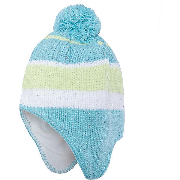 Шапка для девочки ScoolГоловные уборы<br>Характеристики:<br><br>• Вид одежды: шапка<br>• Пол: для девочки<br>• Сезон: зима, демисезонная (до -10 градусов)<br>• Материал: акрил – 100%, подкладка<br> – полиэстер, 100%<br>• Цвет: бирюзовый, белый, лимонный<br>• Наличие подкладка из флиса<br>• Наличие удлиненных боковин<br>• Особенности ухода: ручная стирка без применения отбеливающих средств<br><br>Scool – это линейка детской одежды и обуви, которая предназначена как для повседневности, так и для праздников. Большинство моделей выполнены в классическом стиле, сочетающем в себе традиции с яркими стильными элементами и аксессуарами. Весь ассортимент одежды и обуви Scool сочетается между собой по стилю и цветовому решению, поэтому Вам будет легко сформировать гардероб вашего ребенка, который отражает его индивидуальность. <br>Шапка для девочки Scool выполнена из трикотажа, который вывязан акрилом. Изделие имеет классическую вязку, выполнено в модном бирюзовом оттенке с добавлением полос из белого и лимонного оттенков, на макушке имеется помпон бирюзового цвета. Шапка с утеплением из флиса и удлиненными боковинами обеспечит тепло в прохладные зимние дни. За изделием легко ухаживать, благодаря акриловым ниткам она хорошо держит форму, не скатывается и не изменяет цвет. Шапка для девочки Scool, – это идеальный вариант для прохладной погоды!<br><br>Шапку для девочки Scool, можно купить в нашем интернет-магазине.<br>Ширина мм: 89; Глубина мм: 117; Высота мм: 44; Вес г: 155; Цвет: белый; Возраст от месяцев: 72; Возраст до месяцев: 84; Пол: Женский; Возраст: Детский; Размер: 54,56; SKU: 4912091;