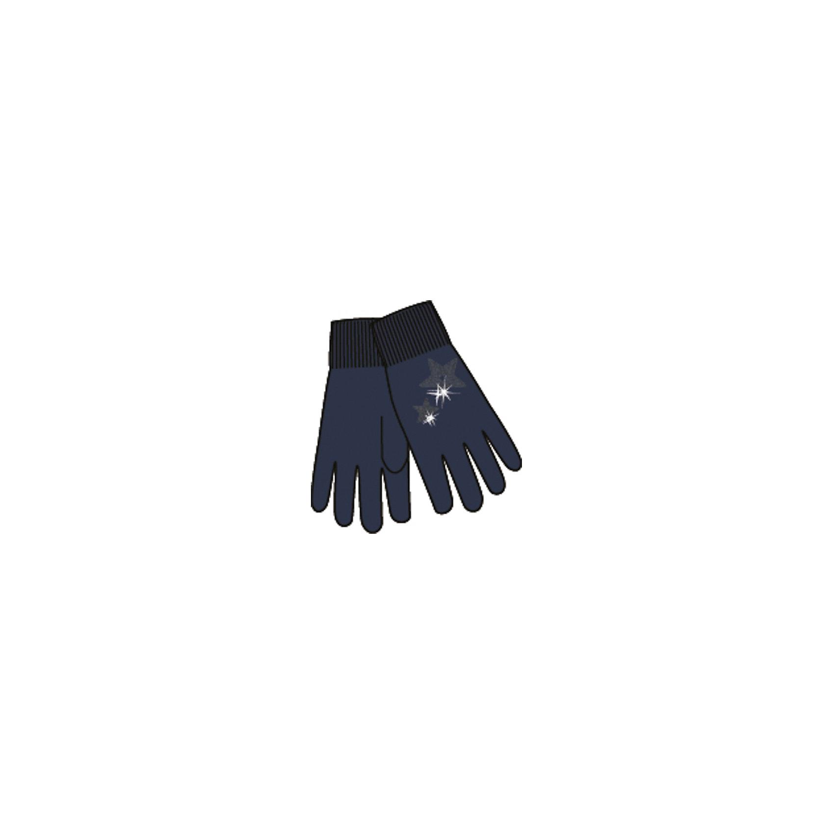 Перчатки для девочки ScoolПерчатки для девочки Scool – теплая и стильная защита рук.<br>Приятный и модный дизайн перчаток сочетаются с классикой и элегантностью. Такие перчатки подходят под любую одежду. Украшены пайетками серебристых цветов в форме звезды. Держатся на мягкой резинке. Перчатки сделаны из качественного материала, который не вызывает раздражения и не теряет внешний вид от влаги.<br><br>Дополнительная информация:<br><br>- материал: 80% хлопок, 18% нейлон, 2% эластан<br>- цвет: черный<br><br>Перчатки для девочки Scool можно купить в нашем интернет магазине.<br><br>Ширина мм: 162<br>Глубина мм: 171<br>Высота мм: 55<br>Вес г: 119<br>Цвет: синий<br>Возраст от месяцев: 0<br>Возраст до месяцев: 3<br>Пол: Женский<br>Возраст: Детский<br>Размер: 16,18,17<br>SKU: 4912098