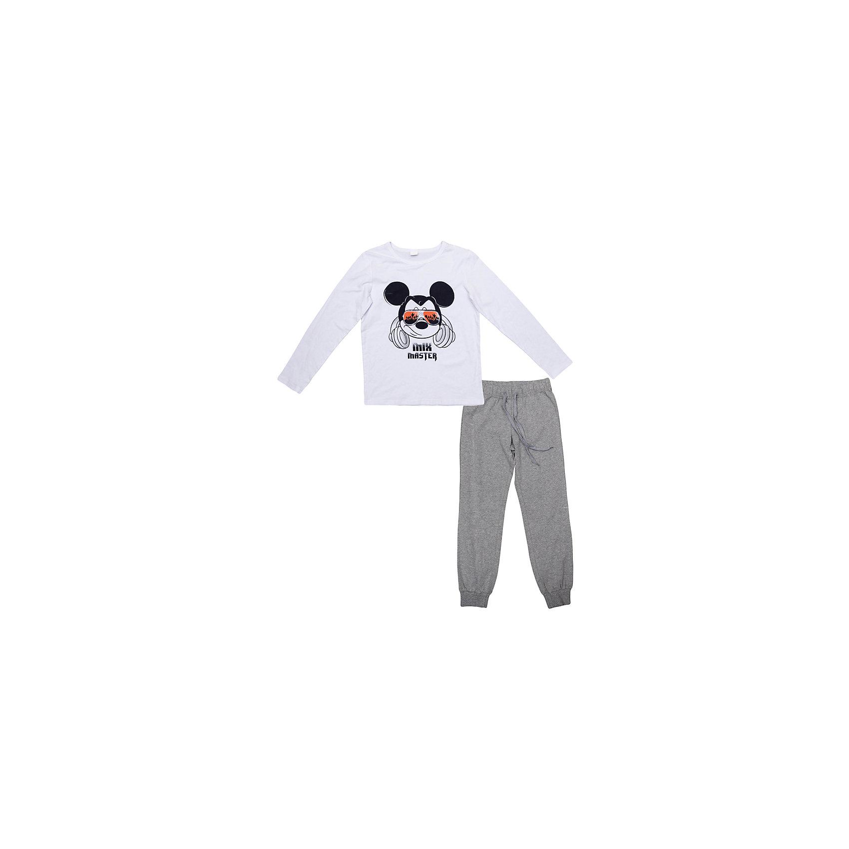 Комплект: толстовка и брюки для мальчика ScoolКомплект: толстовка и брюки для мальчика Scool – подойдет для спорта или для домашней носки.<br>Замечательный уютный хлопковый костюм из толстовки и спортивных брюк. Не сковывает движения, позволяя ребенку вести активный образ жизни. Современный и яркий дизайн. Низ брюк на резинке, а сами брюки могут регулироваться с помощью веревочки.<br><br>Дополнительная информация:<br>- материал: 95% хлопок, 5% эластан <br>- цвет: белый, серый<br><br>Комплект: толстовка и брюки для мальчика Scool можно купить в нашем интернет магазине.<br><br>Ширина мм: 215<br>Глубина мм: 88<br>Высота мм: 191<br>Вес г: 336<br>Цвет: серый<br>Возраст от месяцев: 132<br>Возраст до месяцев: 144<br>Пол: Мужской<br>Возраст: Детский<br>Размер: 158,134,164,140,146,152<br>SKU: 4912249