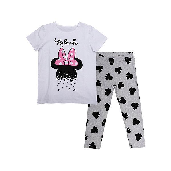 Комплект: футболка и леггинсы для девочки S'cool