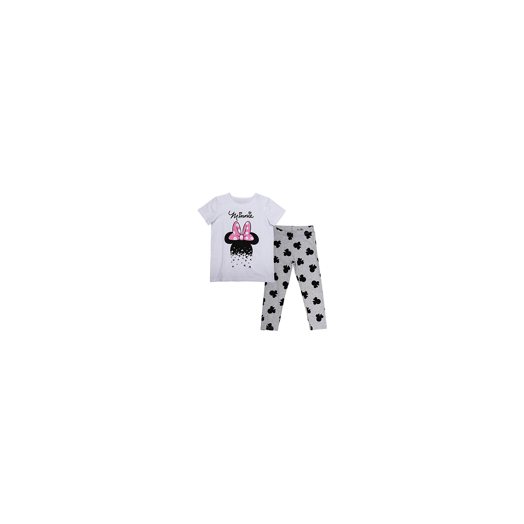 S'cool Комплект: футболка и леггинсы для девочки S'cool