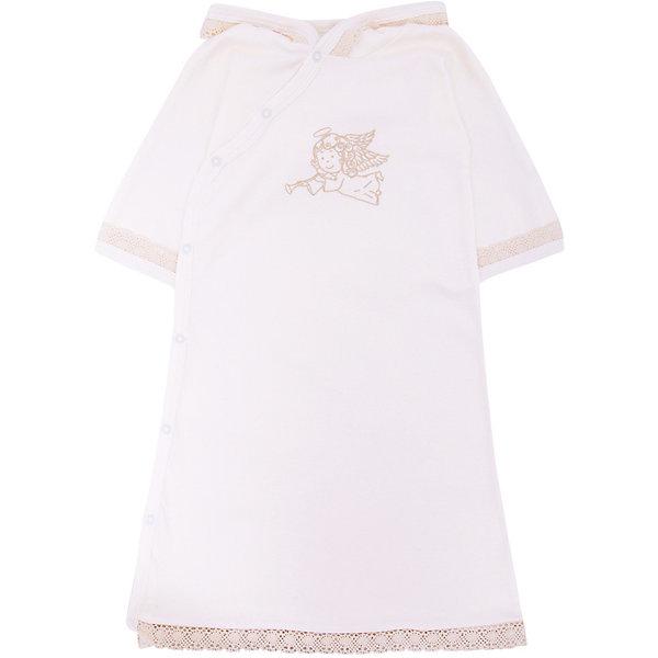 Крестильное платье с капюшоном, тесьма, р-р 86, NewBorn, белыйПлатья<br>Характеристики:<br><br>• Вид детской одежды: платье с капюшоном<br>• Предназначение: для крещения<br>• Коллекция: NewBorn<br>• Сезон: круглый год<br>• Пол: для девочки<br>• Тематика рисунка: ангелы<br>• Размер: 86<br>• Цвет: белый, золотистый<br>• Материал: трикотаж, хлопок<br>• Длина рукава: короткие<br>• Запах: спереди<br>• Застежка: спереди на кнопке<br>• Наличие капюшона<br>• Декорировано широкой тесьмой из шитья <br>• Передняя полочка украшена термонаклейкой в виде ангела<br>• Особенности ухода: допускается деликатная стирка без использования красящих и отбеливающих средств<br><br>Крестильное платье с капюшоном, тесьма, р-р 86, NewBorn, белый из коллекции NewBorn от отечественного швейного производства ТексПром предназначено для создания праздничного образа девочки во время торжественного обряда крещения. Платье представлено в коллекции NewBorn, которая сочетает в себе классические и современные тенденции в мире моды для новорожденных, при этом при технологии изготовления детской одежды сохраняются самые лучшие традиции: свободный крой, внешние швы и натуральные ткани. Платье с короткими рукавами и капюшоном выполнено из трикотажа, все края обработаны трикотажной бейкой золотистого цвета. Изделие имеет передний запах с застежками на кнопках, что обеспечивает его легкое одевание. Праздничный образ создается за счет отделки рукавов, капюшона и низа платья широким кружевом золотистого цвета и термонаклейки на передней полочке в виде ангела. <br><br>Крестильное платье с капюшоном, тесьма, р-р 86, NewBorn, белый можно купить в нашем интернет-магазине.<br>Ширина мм: 220; Глубина мм: 5; Высота мм: 400; Вес г: 200; Возраст от месяцев: 12; Возраст до месяцев: 18; Пол: Женский; Возраст: Детский; SKU: 4912519;