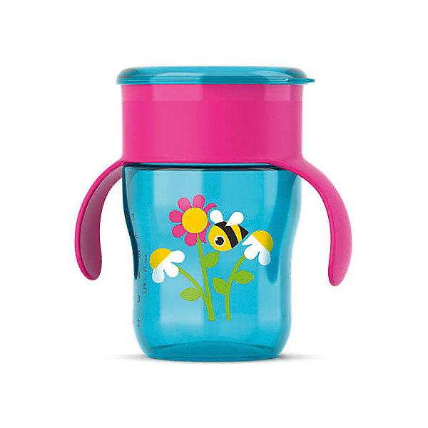 Чашка-поильник с ручками, с 12 мес., 260 мл., Philips Avent, бирюзовый/ровыйПоильники<br>Описание SCF782/20:<br>-Новая чашка для питья Philips AVENT поможет Вашему малышу научиться пить самостоятельно, как из взрослой чашки.Уникальный клапан с защитой от протекания открывается от прикосновения губ, при этом пить можно по всему краю, словно это обычная чашка.Не содержит бисфенол-А (0% BPA).Когда ребенок только начнет пользоваться чашкой, возможно, напитки будут проливаться; это нормально, так как ребенку нужно некоторое время, чтобы привыкнуть к чашке. Для быстрого обучения навыкам питья из чашки мы рекомендуем использовать ее каждый день. Для формирования данного навыка ребенку может потребоваться от нескольких недель до нескольких месяцев. Это зависит от того, как часто вы используете чашку, возраста ребенка и от самого ребенка. Рекомендовано для детей от 12 мес+.<br><br>Результат: <br>Приятное и комфортное питье. С помощью этой чашки Вы сможете легко научить ребенка пользоваться обычной чашкой: малыш может пить по всему краю, как из обычной чашки для взрослых.<br>Удобство в использовании для мамы: чашку  удобно мыть и наполнять. Небольшое количество деталей позволяет быстро ее собрать и разобрать.<br>Ширина мм: 150; Глубина мм: 70; Высота мм: 70; Вес г: 250; Возраст от месяцев: 12; Возраст до месяцев: 36; Пол: Женский; Возраст: Детский; SKU: 4912897;