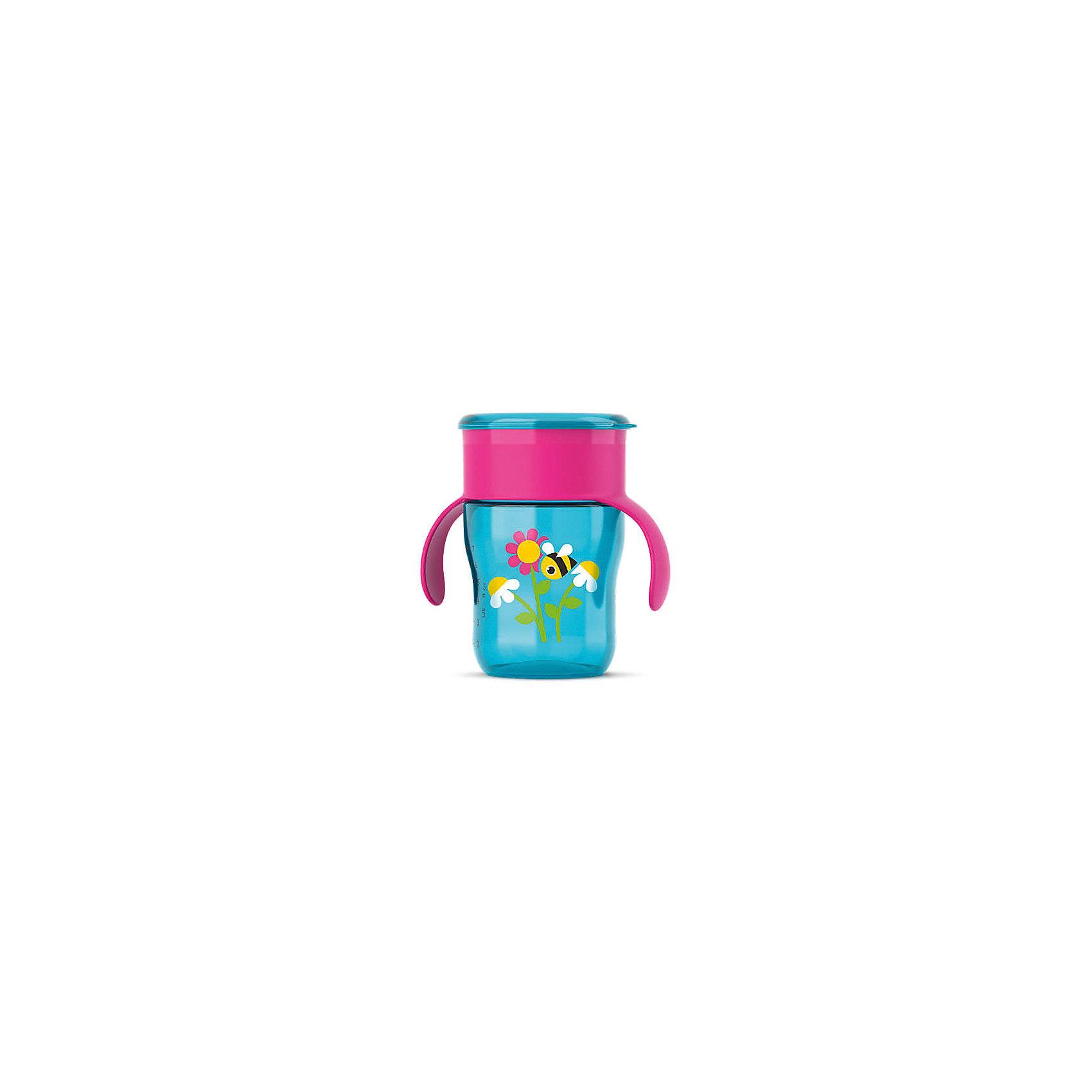 Чашка-поильник с ручками, с 12 мес., 260 мл., Philips Avent, бирюзовый/ровыйПоильники<br>Описание SCF782/20:<br>-Новая чашка для питья Philips AVENT поможет Вашему малышу научиться пить самостоятельно, как из взрослой чашки.Уникальный клапан с защитой от протекания открывается от прикосновения губ, при этом пить можно по всему краю, словно это обычная чашка.Не содержит бисфенол-А (0% BPA).Когда ребенок только начнет пользоваться чашкой, возможно, напитки будут проливаться; это нормально, так как ребенку нужно некоторое время, чтобы привыкнуть к чашке. Для быстрого обучения навыкам питья из чашки мы рекомендуем использовать ее каждый день. Для формирования данного навыка ребенку может потребоваться от нескольких недель до нескольких месяцев. Это зависит от того, как часто вы используете чашку, возраста ребенка и от самого ребенка. Рекомендовано для детей от 12 мес+.<br><br>Результат: <br>Приятное и комфортное питье. С помощью этой чашки Вы сможете легко научить ребенка пользоваться обычной чашкой: малыш может пить по всему краю, как из обычной чашки для взрослых.<br>Удобство в использовании для мамы: чашку  удобно мыть и наполнять. Небольшое количество деталей позволяет быстро ее собрать и разобрать.<br><br>Ширина мм: 150<br>Глубина мм: 70<br>Высота мм: 70<br>Вес г: 250<br>Возраст от месяцев: 12<br>Возраст до месяцев: 36<br>Пол: Женский<br>Возраст: Детский<br>SKU: 4912897