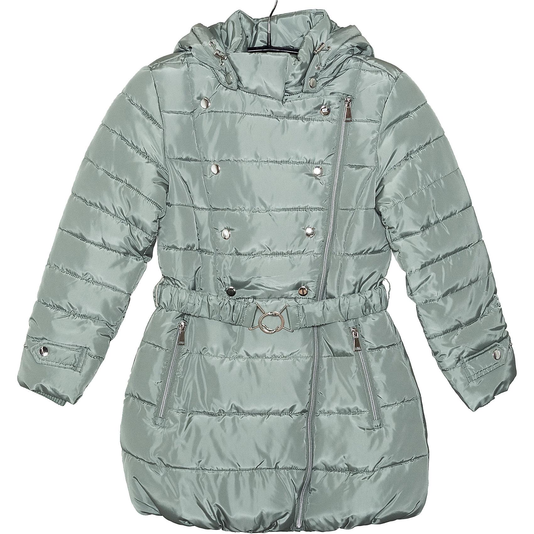 Пальто для девочки SELAДетская одежда от SELA - это качественные модные вещи по привлекательным ценам. Данная модель относится к коллекции нового сезона, она учитывает последние тренды в моде, поэтому смотрится стильно, с ней можно создать множество ансамблей.<br>Пальто утеплено, оно отлично подходит для межсезонья. Длина до колена и пояс на талии обеспечат ребенку тепло и удобство. Капюшон отстегивается. Изделие сшито из тщательно подобранных материалов, абсолютно безопасных для ребенка.<br><br><br>Дополнительная информация:<br><br>цвет: зеленый;<br>состав: 100% ПЭ;<br>температурный режим: от - 5°С до + 10°С;<br>застежка: молния, кнопки;<br>длина: до колена;<br>карманы на молнии;<br>капюшон отстегивается.<br><br>Пальто для девочки от компании SELA можно купить в нашем магазине.<br><br>Ширина мм: 356<br>Глубина мм: 10<br>Высота мм: 245<br>Вес г: 519<br>Цвет: зеленый<br>Возраст от месяцев: 84<br>Возраст до месяцев: 96<br>Пол: Женский<br>Возраст: Детский<br>Размер: 128,152,140,116<br>SKU: 4912926