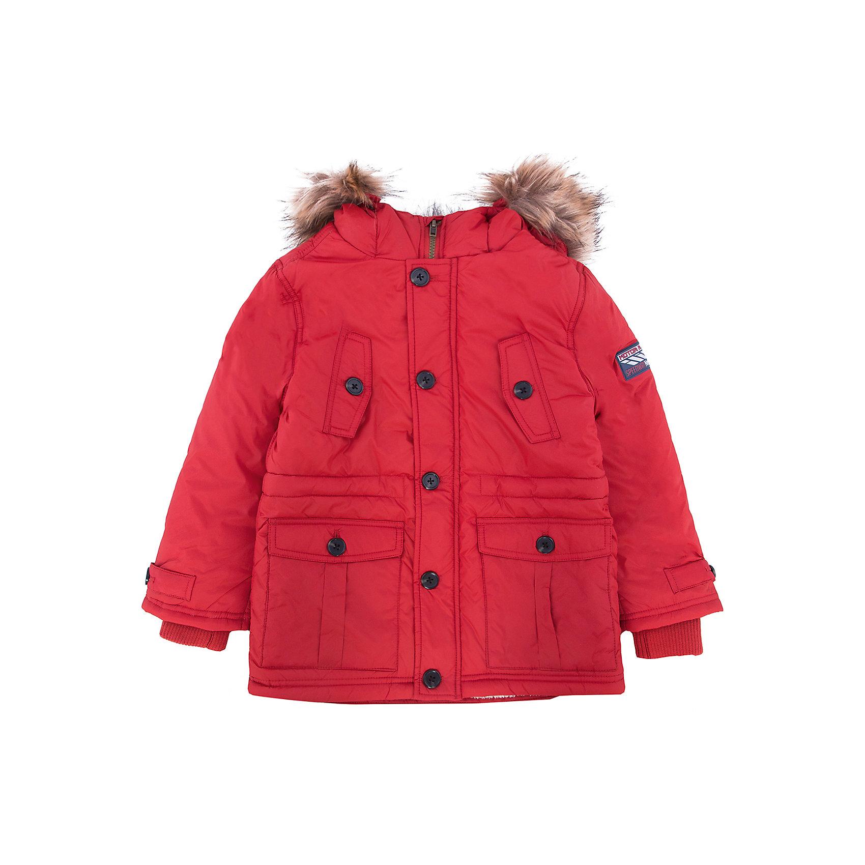 Куртка для мальчика SELAДетская одежда от SELA - это качество и отличные цены. Куртка для мальчика из новой коллекции подготовит гардероб ребенка к осенним холодам. Цветовое решение куртки не оставит равнодушным никого.  Модель не только стильная, но и функциональная.  У куртки две пары карманов и резинка на рукавах, которая защитит руки от ветра.<br>Все материалы, использованные в создании изделия,  отвечают современным требованиям по качеству и безопасности продукции. <br><br>Дополнительная информация:<br><br>цвет: кирпичный;<br>состав: подкладка - 100% нейлон, подкладка (рукава) - 100% ПЭ, утеплитель - 100% ПЭ, мех -  100% ПЭ;<br>длина до середины бедра;<br>силуэт прямой;<br>капюшон притачной.<br><br>Куртку для мальчика от компании SELA можно купить в нашем магазине.<br><br>Ширина мм: 356<br>Глубина мм: 10<br>Высота мм: 245<br>Вес г: 519<br>Цвет: красный<br>Возраст от месяцев: 36<br>Возраст до месяцев: 48<br>Пол: Мужской<br>Возраст: Детский<br>Размер: 104,98,116,110<br>SKU: 4912974