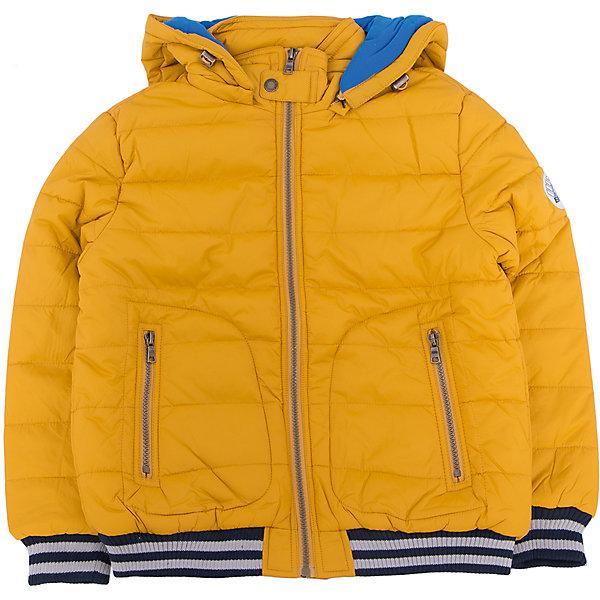 Куртка для мальчика SELAВерхняя одежда<br>Детская одежда от SELA - это качество и отличные цены. Куртка для мальчика из новой коллекции сделает образ ребенка стильным и не позволит замерзнуть осенью. Яркие цвета модели не теряют сочность со временем. Куртка застегивается на молнию, что понравится любому ребенку. <br>Модель имеет резинки на рукавах и на подоле, которые отлично защищают от ветра и придают «изюминку» изделию.<br>Все материалы, использованные в создании изделия,  отвечают современным требованиям по качеству и безопасности продукции. <br><br>Дополнительная информация:<br><br>цвет: Горчичный;<br>состав: 100% нейлон, подкладка - 65% хлопок, 35% ПЭ, утеплитель - 100% ПЭ;<br>длина до бедер;<br>силуэт прямой;<br>капюшон отстегивающийся.<br><br>Куртку для мальчика от компании SELA можно купить в нашем магазине.<br>Ширина мм: 356; Глубина мм: 10; Высота мм: 245; Вес г: 519; Цвет: желтый; Возраст от месяцев: 60; Возраст до месяцев: 72; Пол: Мужской; Возраст: Детский; Размер: 116,128,140,152; SKU: 4912984;
