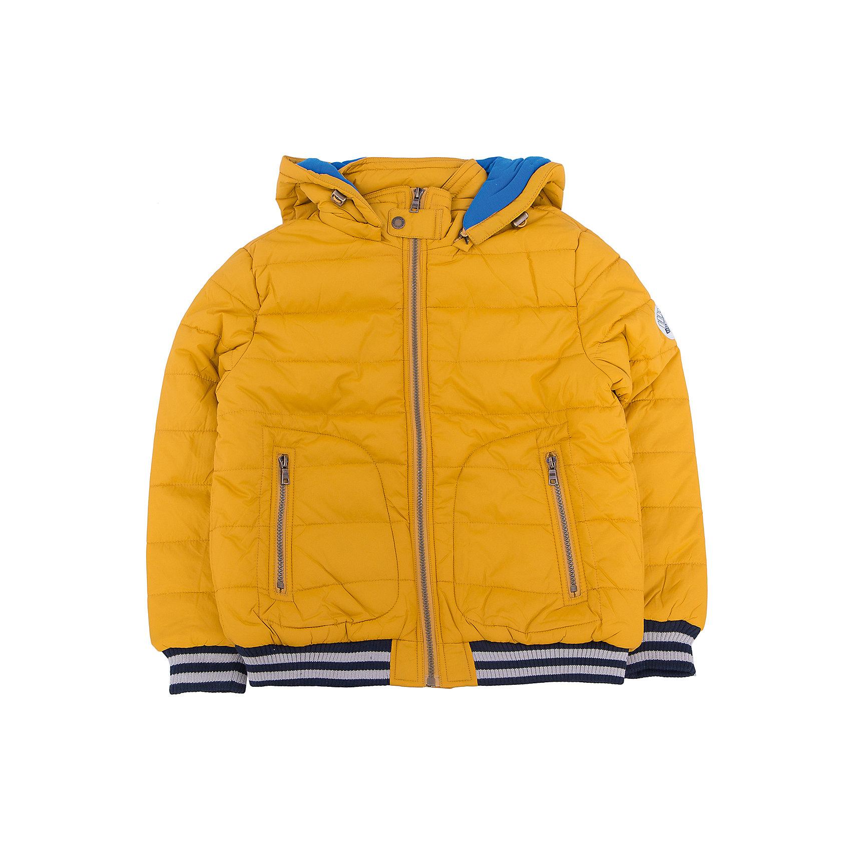 Куртка для мальчика SELAДетская одежда от SELA - это качество и отличные цены. Куртка для мальчика из новой коллекции сделает образ ребенка стильным и не позволит замерзнуть осенью. Яркие цвета модели не теряют сочность со временем. Куртка застегивается на молнию, что понравится любому ребенку. <br>Модель имеет резинки на рукавах и на подоле, которые отлично защищают от ветра и придают «изюминку» изделию.<br>Все материалы, использованные в создании изделия,  отвечают современным требованиям по качеству и безопасности продукции. <br><br>Дополнительная информация:<br><br>цвет: Горчичный;<br>состав: 100% нейлон, подкладка - 65% хлопок, 35% ПЭ, утеплитель - 100% ПЭ;<br>длина до бедер;<br>силуэт прямой;<br>капюшон отстегивающийся.<br><br>Куртку для мальчика от компании SELA можно купить в нашем магазине.<br><br>Ширина мм: 356<br>Глубина мм: 10<br>Высота мм: 245<br>Вес г: 519<br>Цвет: желтый<br>Возраст от месяцев: 84<br>Возраст до месяцев: 96<br>Пол: Мужской<br>Возраст: Детский<br>Размер: 128,116,152,140<br>SKU: 4912984