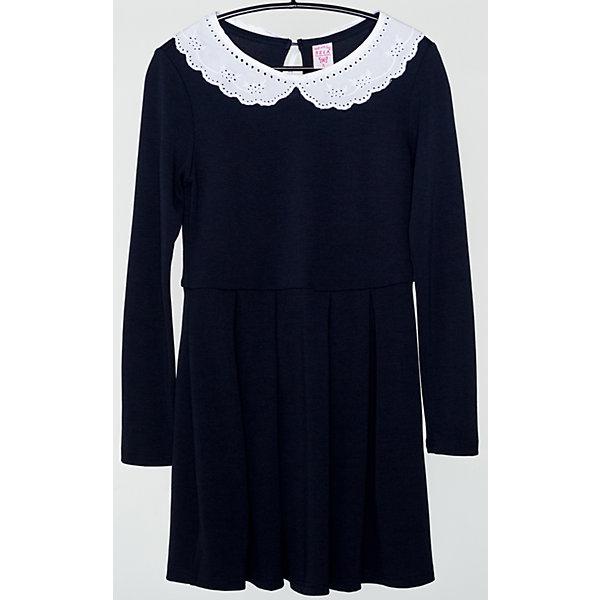 Платье для девочки SELAПлатья и сарафаны<br>Детская одежда от SELA - это качественные модные вещи по привлекательным ценам. Данная модель относится к коллекции нового сезона, она учитывает последние тренды в моде, поэтому смотрится стильно, с ней можно создать множество ансамблей.<br>Это симпатичное платье украшено кружевным воротником. Рукава - длинные, силуэт приталенный. Интересно смотрится благодаря контрасту темного и светлого. Сзади застегивается на пуговицу. Изделие сшито из тщательно подобранных материалов, абсолютно безопасных для ребенка.<br><br>Дополнительная информация:<br><br>цвет: разноцветный;<br>состав: 65% вискоза, 30% ПЭ, 5% эластан;<br>украшено кружевным воротником;<br>пуговица сзади;<br>рукава длинные.<br><br>Платье для девочки от компании SELA можно купить в нашем магазине.<br><br>Ширина мм: 236<br>Глубина мм: 16<br>Высота мм: 184<br>Вес г: 177<br>Цвет: синий<br>Возраст от месяцев: 60<br>Возраст до месяцев: 72<br>Пол: Женский<br>Возраст: Детский<br>Размер: 116,146,128,140,152,134,122<br>SKU: 4913000