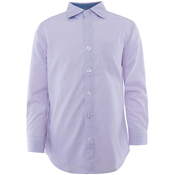 Рубашка для мальчика SELAБлузки и рубашки<br>Детская одежда от SELA - это качество и отличные цены. Рубашка для мальчика из новой коллекции – прекрасно подойдет для обновления гардероба к новому учебному году. Строгость и стиль – главные достоинства модели.<br>На рукавах у рубашки есть модные декоративные элементы синего цвета, привлекающие внимание. Модель не имеет рисунка, но едва заметный орнамент делает изделие оригинальным. Нежный цвет позволит комбинировать рубашку с любимыми вещами. Все материалы, использованные в создании изделия,  отвечают современным требованиям по качеству и безопасности продукции. <br><br>Дополнительная информация:<br><br>цвет: лаванда;<br>состав: 65% хлопок, 35% ПЭ;<br>рукав длинный;<br>силуэт прямой.<br><br>Рубашку для мальчика от компании SELA можно купить в нашем магазине.<br><br>Ширина мм: 174<br>Глубина мм: 10<br>Высота мм: 169<br>Вес г: 157<br>Цвет: голубой<br>Возраст от месяцев: 60<br>Возраст до месяцев: 72<br>Пол: Мужской<br>Возраст: Детский<br>Размер: 116,164,140,158,146,122,128,152,134,170<br>SKU: 4913046
