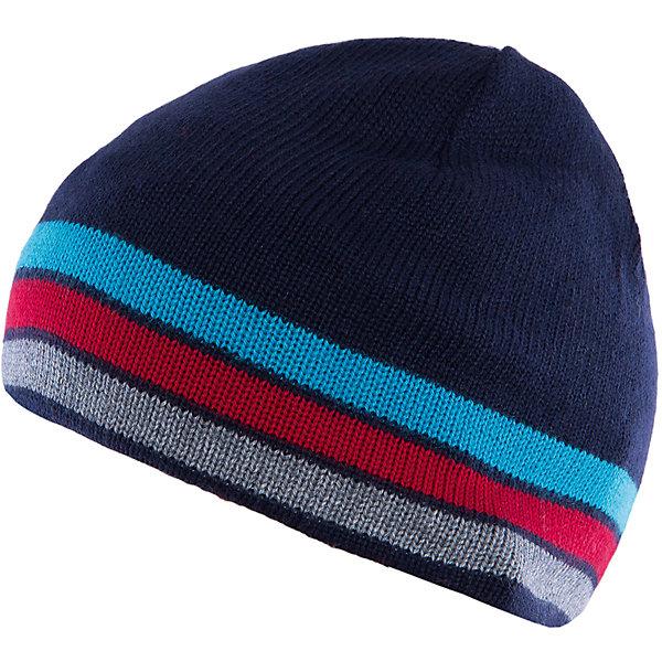 Шапка для мальчика SELAГоловные уборы<br>Товары от фирмы SELA - это качественные модные вещи по привлекательным ценам. Данная модель относится к коллекции нового сезона, она учитывает последние тренды в моде, поэтому смотрится стильно, с ней можно создать множество ансамблей.<br>Эта шапка смотрится очень стильно благодаря актуальному силуэту. Глубокая посадка изделия обеспечит ребенку тепло и удобство. Модель произведена из тщательно подобранных материалов, абсолютно безопасных для ребенка.<br><br>Дополнительная информация:<br><br>цвет: разноцветный;<br>состав: 40% ПЭ, 30% акрил, 20% нейлон, 10% шерсть;<br>глубокая посадка.<br><br>Шапку для мальчика  от компании SELA можно купить в нашем магазине.<br>Ширина мм: 89; Глубина мм: 117; Высота мм: 44; Вес г: 155; Цвет: синий; Возраст от месяцев: 60; Возраст до месяцев: 84; Пол: Мужской; Возраст: Детский; Размер: 52-54,54-56; SKU: 4913080;