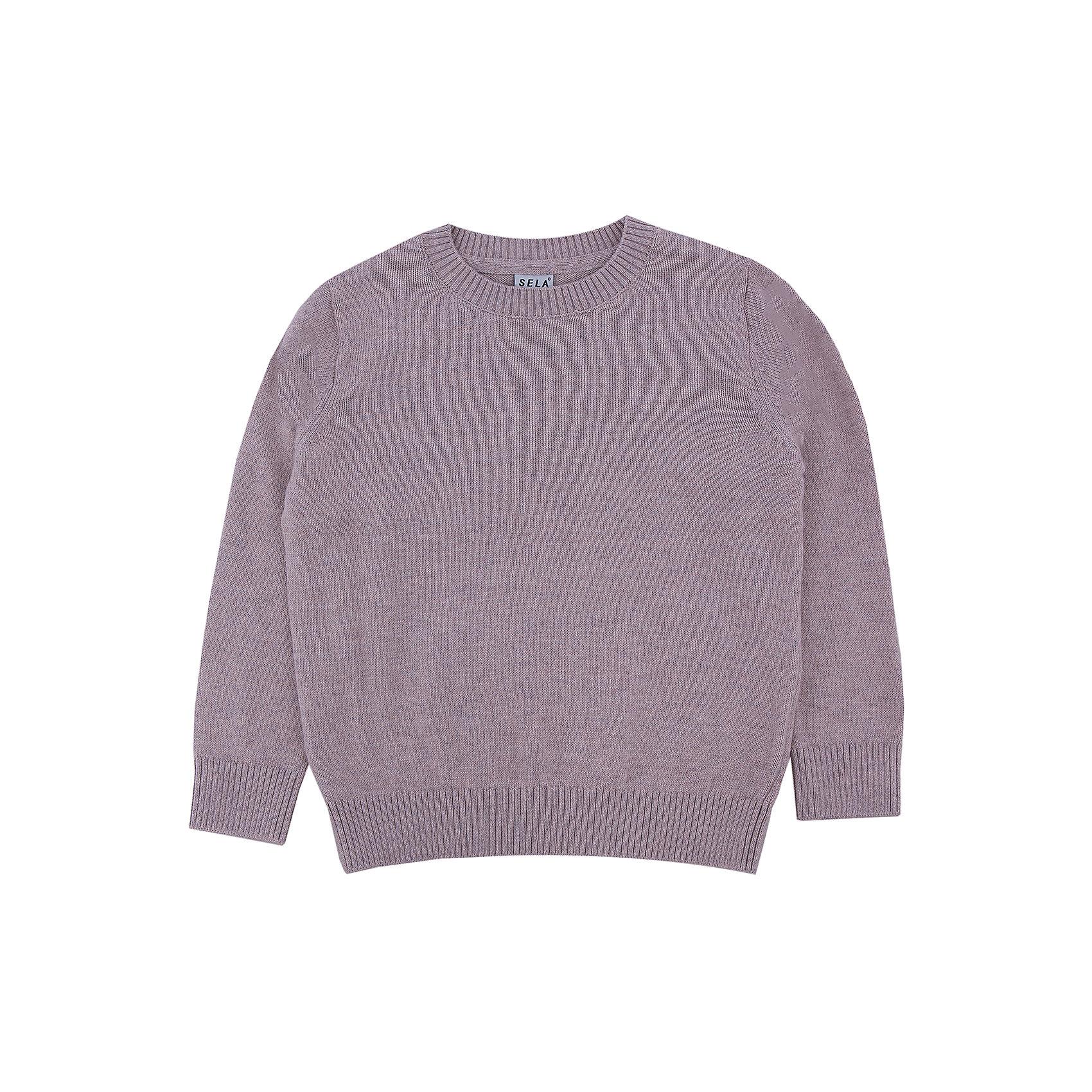 Джемпер для мальчика SELAДетская одежда от SELA - это качество и отличные цены. Джемпер для мальчика из новой коллекции – необходимая вещь, чтобы выглядеть стильно в новом сезоне. Модель выполнена в классическом базовом стиле, что позволят комбинировать джемпер с любыми вещами и для любого случая. В изделии использована шерсть, которая делает модель не только модной, но и теплой. У джемпера на горле и рукавах есть уплотненные резинки.<br>Все материалы, использованные в создании изделия,  отвечают современным стандартам по качеству и безопасности продукции.<br>Дополнительная информация:<br>цвет: бежевый;<br>состав:  60% хлопок, 10% шерсть, 30% нейлон;<br>Длинный рукав<br>Силуэт прямой<br>Джемпер для мальчика от компании SELA можно приобрести в нашем магазине.<br><br>Ширина мм: 190<br>Глубина мм: 74<br>Высота мм: 229<br>Вес г: 236<br>Цвет: бежевый<br>Возраст от месяцев: 60<br>Возраст до месяцев: 72<br>Пол: Мужской<br>Возраст: Детский<br>Размер: 116,98,110,92,104<br>SKU: 4913126