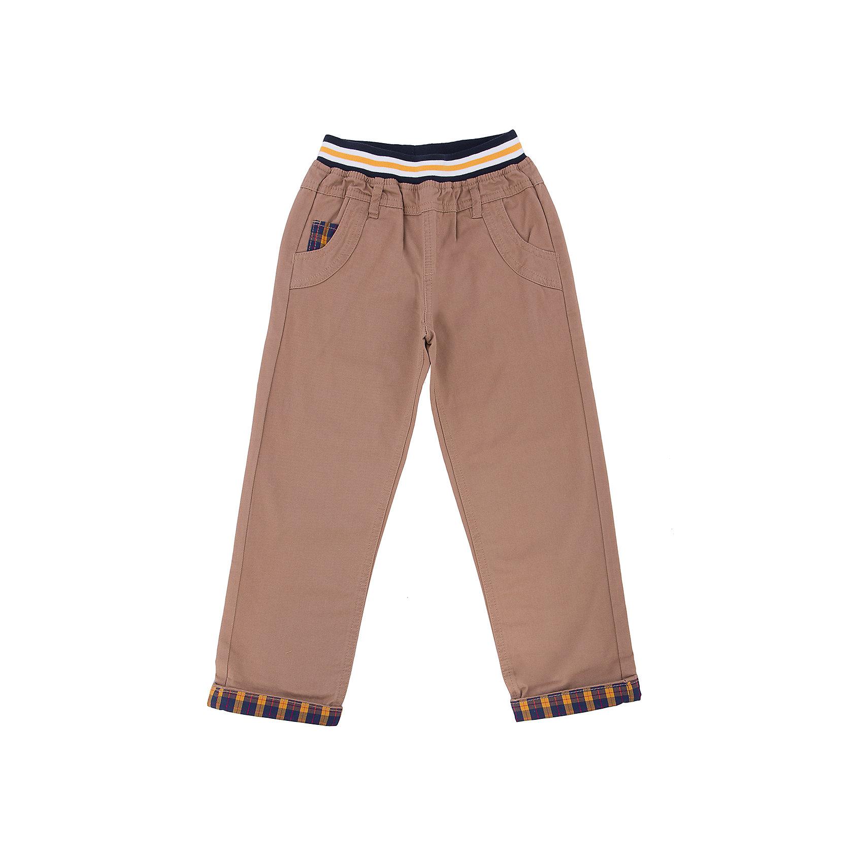 Брюки для мальчика SELAБрюки<br>Брюки для мальчика из коллекции осень-зима 2016-2017 от известного бренда SELA. Стильные брюки на каждый день приятного бежевого цвета из хлопка. Брюки без пуговиц и молний, с модной резикой и с деталями в тон на кармане, подойдут как к рубашкам, так и к футболкам.<br><br>Дополнительная информация:<br>- Силуэт прямой <br><br>Состав: 100% хлопок <br><br>Брюки для мальчиков Sela можно купить в нашем интернет-магазине.<br>.<br>Подробнее:<br>• Для детей в возрасте: от 2 до 6 лет<br>• Номер товара: 4913206<br>Страна производитель: Китай<br><br>Ширина мм: 215<br>Глубина мм: 88<br>Высота мм: 191<br>Вес г: 336<br>Цвет: бежевый<br>Возраст от месяцев: 60<br>Возраст до месяцев: 72<br>Пол: Мужской<br>Возраст: Детский<br>Размер: 116,110,98,104,92<br>SKU: 4913205