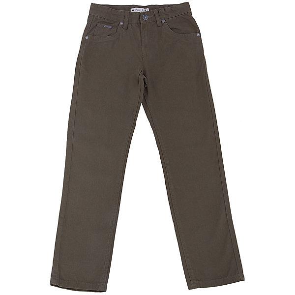 Брюки для мальчика SELAБрюки<br>Брюки для мальчика из коллекции осень-зима 2016-2017 от известного бренда SELA. Стильные брюки на каждый день приятного оливкового зеленого цвета сделаны из хлопка. Брюки на молнии, имеют классические 5 карманов, прекрасно подойдут как к рубашкам, так и к футболкам.<br><br>Дополнительная информация:<br>- Силуэт прямой <br><br>Состав: 100% хлопок <br><br>Брюки для мальчиков Sela можно купить в нашем интернет-магазине.<br>.<br>Подробнее:<br>• Для детей в возрасте: от 6 до 12 лет<br>• Номер товара: 4913212<br>Страна производитель: Бангладеш<br>Ширина мм: 215; Глубина мм: 88; Высота мм: 191; Вес г: 336; Цвет: зеленый; Возраст от месяцев: 132; Возраст до месяцев: 144; Пол: Мужской; Возраст: Детский; Размер: 152,116,134,128,146,140,122; SKU: 4913211;