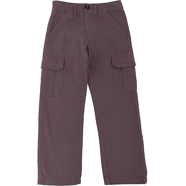 Брюки для мальчика SELAБрюки<br>Брюки для мальчика из коллекции осень-зима 2016-2017 от известного бренда SELA. Стильные брюки с большими карманами по бокам приятного серо-коричневого цвета сделаны из хлопка. Брюки на молнии, имеют 6 карманов, прекрасно подойдут как к рубашкам, так и к футболкам.<br><br>Дополнительная информация:<br>- Силуэт прямой <br><br>Состав: 100% хлопок <br><br>Брюки для мальчиков Sela можно купить в нашем интернет-магазине.<br>.<br>Подробнее:<br>• Для детей в возрасте: от 6 до 12 лет<br>• Номер товара: 4913236<br>Страна производитель: Бангладеш<br>Ширина мм: 215; Глубина мм: 88; Высота мм: 191; Вес г: 336; Цвет: коричневый; Возраст от месяцев: 120; Возраст до месяцев: 132; Пол: Мужской; Возраст: Детский; Размер: 146,128,152,140,122,116,134; SKU: 4913235;