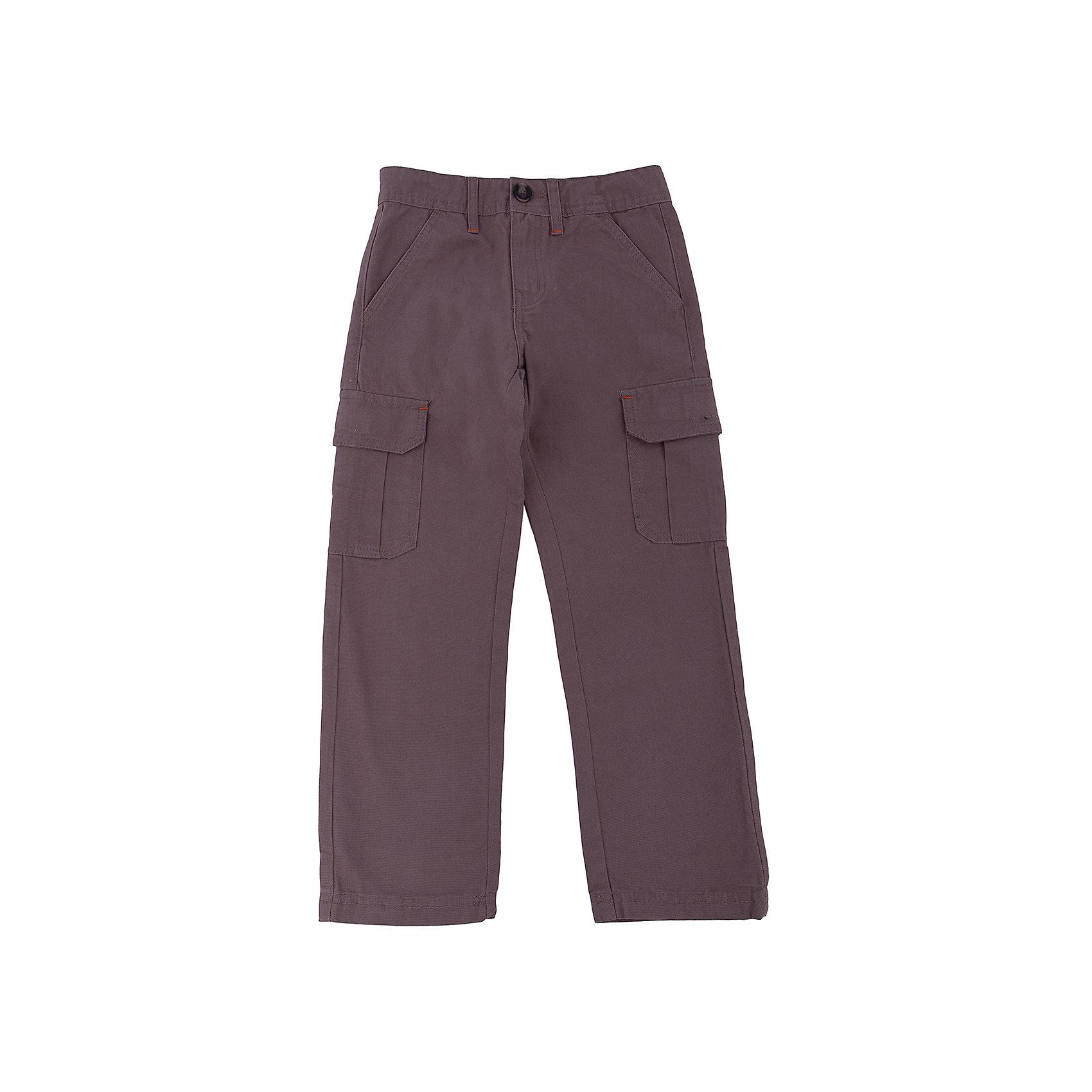 Брюки для мальчика SELAБрюки<br>Брюки для мальчика из коллекции осень-зима 2016-2017 от известного бренда SELA. Стильные брюки с большими карманами по бокам приятного серо-коричневого цвета сделаны из хлопка. Брюки на молнии, имеют 6 карманов, прекрасно подойдут как к рубашкам, так и к футболкам.<br><br>Дополнительная информация:<br>- Силуэт прямой <br><br>Состав: 100% хлопок <br><br>Брюки для мальчиков Sela можно купить в нашем интернет-магазине.<br>.<br>Подробнее:<br>• Для детей в возрасте: от 6 до 12 лет<br>• Номер товара: 4913236<br>Страна производитель: Бангладеш<br><br>Ширина мм: 215<br>Глубина мм: 88<br>Высота мм: 191<br>Вес г: 336<br>Цвет: коричневый<br>Возраст от месяцев: 132<br>Возраст до месяцев: 144<br>Пол: Мужской<br>Возраст: Детский<br>Размер: 152,128,146,134,116,122,140<br>SKU: 4913235
