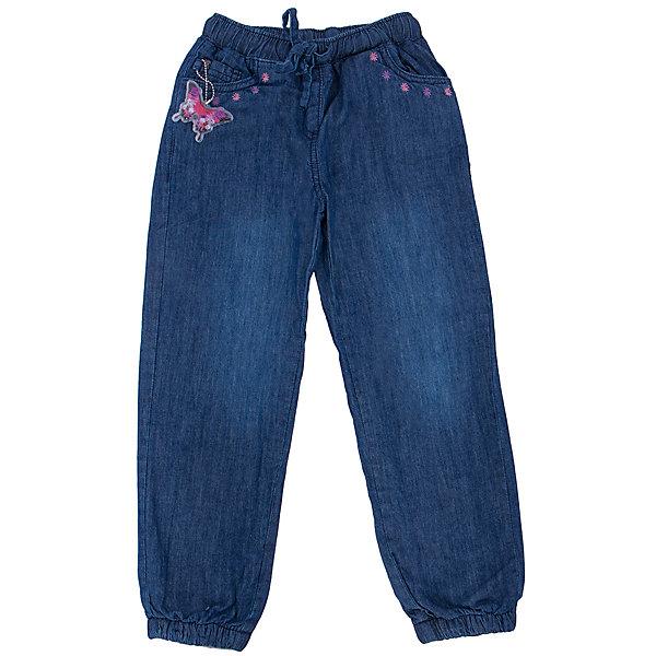 Джинсы для девочки SELAДжинсовая одежда<br>Джинсы для девочки из коллекции осень-зима 2016-2017 от известного бренда SELA. Удобные джинсовые брюки на каждый день приятного темно-синего цвета из хлопка. У брюк классические 5 карманов, по краям карманов – декоративная отделка розовыми и лиловыми цветочками. Брючки на резинке.<br><br>Дополнительная информация:<br>- Силуэт прямой <br>Состав: 100% хлопок, подкладка 100% ПЭ<br><br>Брюки для девочек Sela можно купить в нашем интернет-магазине.<br>.<br>Подробнее:<br>• Для детей в возрасте: от 2 до 6 лет<br>• Номер товара: 4913244<br>Страна производитель: Китай<br><br>Ширина мм: 215<br>Глубина мм: 88<br>Высота мм: 191<br>Вес г: 336<br>Цвет: синий<br>Возраст от месяцев: 24<br>Возраст до месяцев: 36<br>Пол: Женский<br>Возраст: Детский<br>Размер: 98,104,110,116<br>SKU: 4913243
