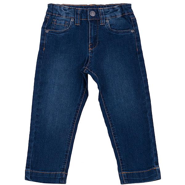 Джинсы для мальчика SELAДжинсы<br>Джинсы для мальчика из коллекции осень-зима 2016-2017 от известного бренда SELA. Классические джинсовые брюки приятного темно-синего цвета сделаны из хлопка. Брюки на молнии, имеют 5 карманов, прекрасно подойдут как к рубашкам, так и к футболкам.<br><br>Дополнительная информация:<br>- Силуэт прямой <br><br>Состав: 80% хлопок, 17% ПЭ, 3% эластан<br><br>Брюки для мальчиков Sela можно купить в нашем интернет-магазине.<br>.<br>Подробнее:<br>• Для детей в возрасте: от 2 до 6 лет<br>• Номер товара: 4913249<br>Страна производитель: Бангладеш<br>Ширина мм: 215; Глубина мм: 88; Высота мм: 191; Вес г: 336; Цвет: синий; Возраст от месяцев: 18; Возраст до месяцев: 24; Пол: Мужской; Возраст: Детский; Размер: 92,98,110,104,116; SKU: 4913248;
