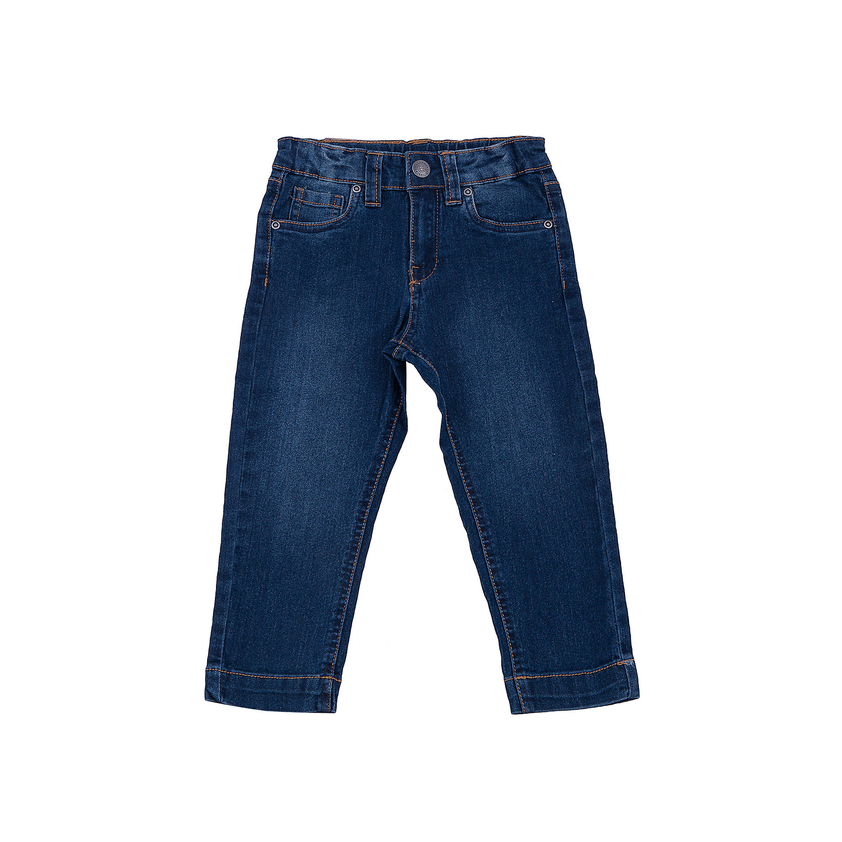 Джинсы для мальчика SELAДжинсы для мальчика из коллекции осень-зима 2016-2017 от известного бренда SELA. Классические джинсовые брюки приятного темно-синего цвета сделаны из хлопка. Брюки на молнии, имеют 5 карманов, прекрасно подойдут как к рубашкам, так и к футболкам.<br><br>Дополнительная информация:<br>- Силуэт прямой <br><br>Состав: 80% хлопок, 17% ПЭ, 3% эластан<br><br>Брюки для мальчиков Sela можно купить в нашем интернет-магазине.<br>.<br>Подробнее:<br>• Для детей в возрасте: от 2 до 6 лет<br>• Номер товара: 4913249<br>Страна производитель: Бангладеш<br><br>Ширина мм: 215<br>Глубина мм: 88<br>Высота мм: 191<br>Вес г: 336<br>Цвет: синий<br>Возраст от месяцев: 18<br>Возраст до месяцев: 24<br>Пол: Мужской<br>Возраст: Детский<br>Размер: 92,98,110,104,116<br>SKU: 4913248