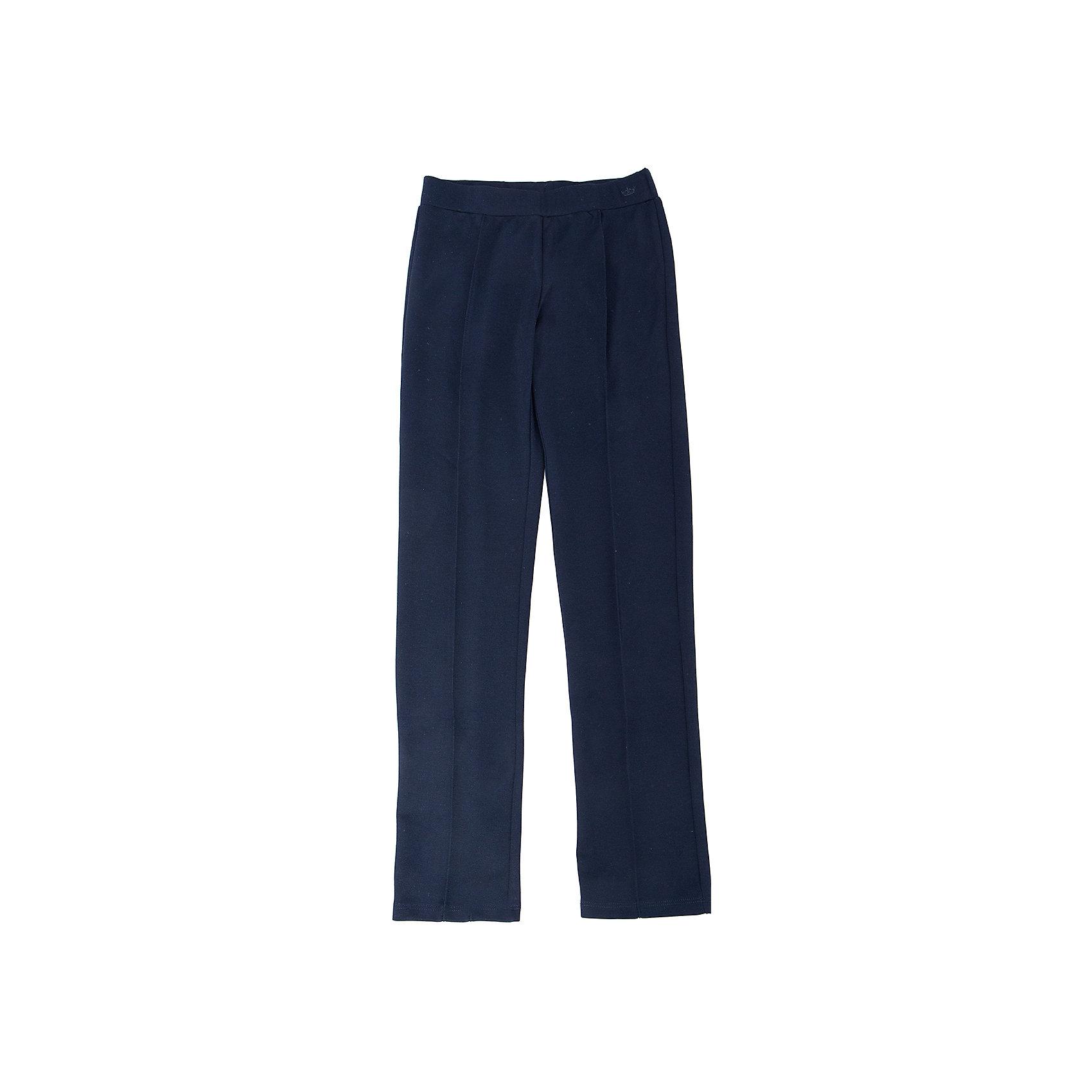 Брюки для девочки SELAБрюки<br>Брюки для девочки из коллекции осень-зима 2016-2017 от известного бренда SELA. Удобные брюки на каждый день идеальны для нового школьного сезона. В этой модели отсутствуют карманы и застежка на молнии, брюки имеют эластичную резинку. Строгие стрелки на брюках отражают серьезность их обладательницы, к этим брюкам отлично подойдут блузки и пиджаки.<br><br>Дополнительная информация:<br>- Силуэт прилегающий<br>Состав: 60% ПЭ, 35% вискоза, 5% эластан<br><br>Брюки для девочек Sela можно купить в нашем интернет-магазине.<br>.<br>Подробнее:<br>• Для детей в возрасте: от 6 до 12 лет<br>• Номер товара: 4913271<br>Страна производитель: Китай<br><br>Ширина мм: 215<br>Глубина мм: 88<br>Высота мм: 191<br>Вес г: 336<br>Цвет: синий<br>Возраст от месяцев: 132<br>Возраст до месяцев: 144<br>Пол: Женский<br>Возраст: Детский<br>Размер: 152,146,128,116,122,134,140<br>SKU: 4913270
