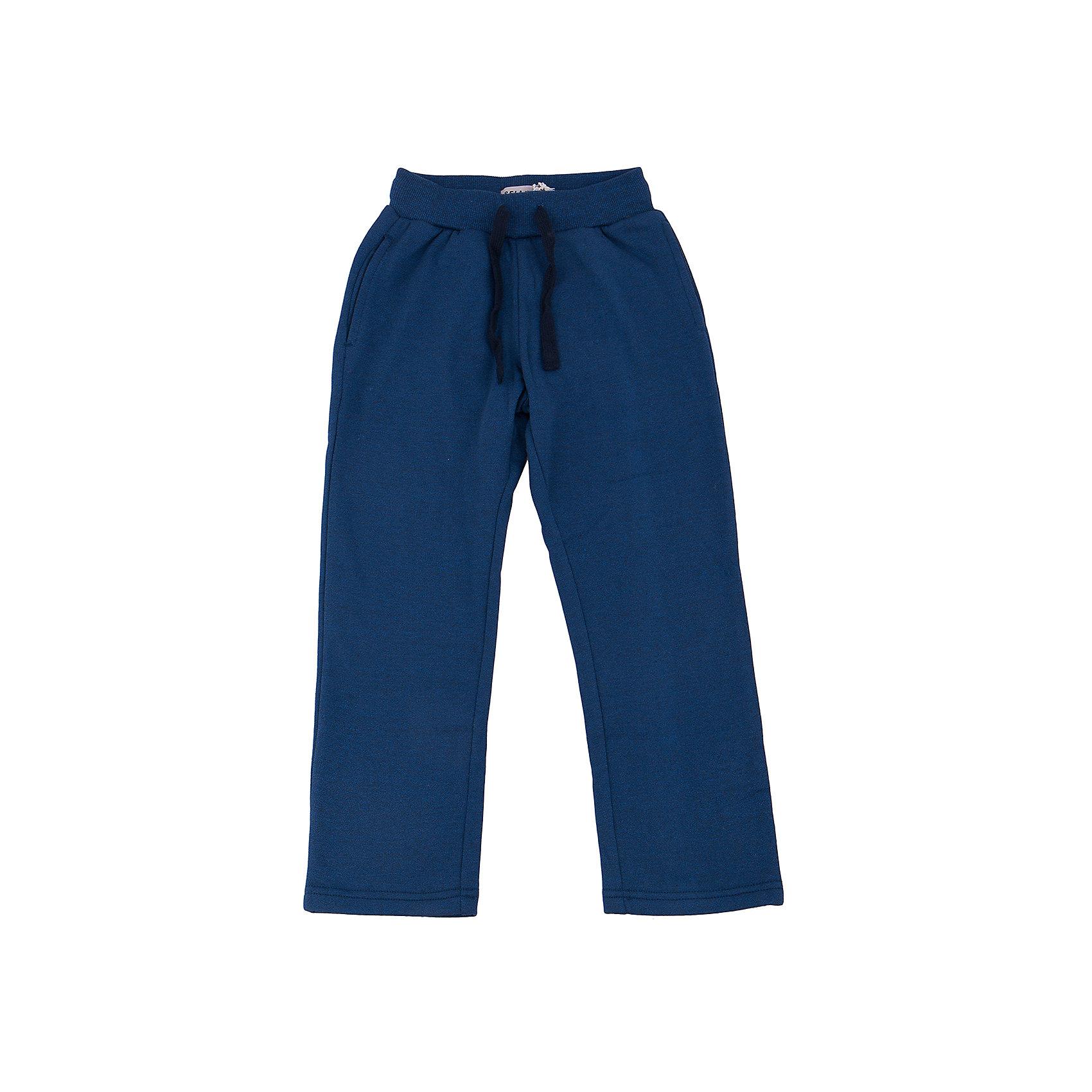 Брюки для мальчика SELAБрюки для мальчика из коллекции осень-зима 2016-2017 от известного бренда SELA. Брюки отлично подойдут для спорта. У Брюк имеются два кармана и практичный шнурок, контролирующий эластичную резинку. К блюкам отлично подойдут футболки и толстовки.<br><br>Дополнительная информация:<br>- Силуэт прямой <br><br>Состав: 60% хлопок, 40% ПЭ <br><br>Брюки для мальчиков Sela можно купить в нашем интернет-магазине.<br>.<br>Подробнее:<br>• Для детей в возрасте: от 6 до 12 лет<br>• Номер товара: 4913279<br>Страна производитель: Китай<br><br>Ширина мм: 215<br>Глубина мм: 88<br>Высота мм: 191<br>Вес г: 336<br>Цвет: синий<br>Возраст от месяцев: 84<br>Возраст до месяцев: 96<br>Пол: Мужской<br>Возраст: Детский<br>Размер: 128,134,146,122,152,116,140<br>SKU: 4913278