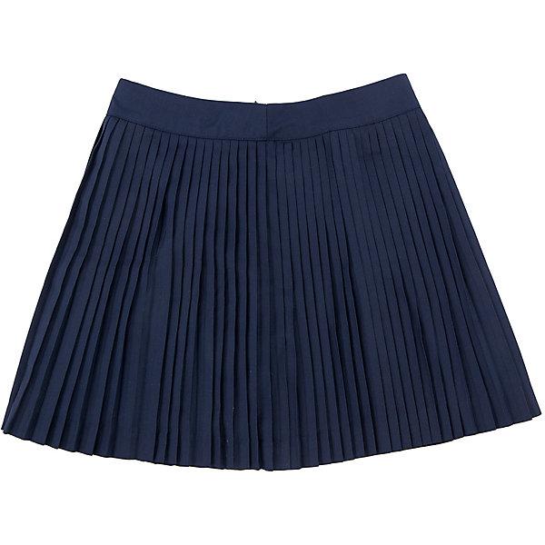 Юбка для девочки SELAЮбки<br>Юбка для девочки из коллекции осень-зима 2016-2017 от известного бренда SELA. Удобная юбка на каждый день идеальна для нового школьного сезона. Классическая школьная плиссированная юбка длинной ниже колена приятного темно-синего цвета понравится как любительницам нового стиля, так и любительницам классики. В этой юбкой будут хорошо смотреться как блузки, так и свитеры или пиджаки.<br><br>Дополнительная информация:<br>- Длина: выше колен<br>- Силуэт: трапеция<br>Состав: 50% хлопок, 50% ПЭ; подкладка - 100% ПЭ<br><br>Юбку для девочек Sela можно купить в нашем интернет-магазине.<br><br>Подробнее:<br>• Для детей в возрасте: от 6 до 12 лет<br>• Номер товара: 4913330<br>Страна производитель: Китай<br><br>Ширина мм: 207<br>Глубина мм: 10<br>Высота мм: 189<br>Вес г: 183<br>Цвет: синий<br>Возраст от месяцев: 132<br>Возраст до месяцев: 144<br>Пол: Женский<br>Возраст: Детский<br>Размер: 152,116,128,146,140,122,134<br>SKU: 4913329