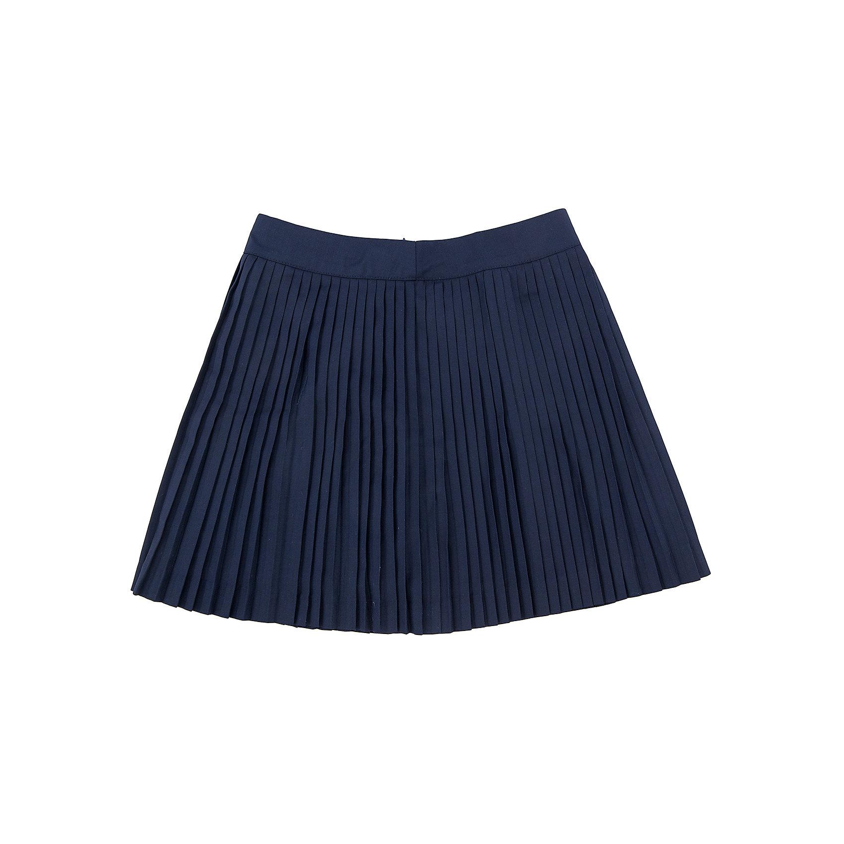 Юбка для девочки SELAЮбка для девочки из коллекции осень-зима 2016-2017 от известного бренда SELA. Удобная юбка на каждый день идеальна для нового школьного сезона. Классическая школьная плиссированная юбка длинной ниже колена приятного темно-синего цвета понравится как любительницам нового стиля, так и любительницам классики. В этой юбкой будут хорошо смотреться как блузки, так и свитеры или пиджаки.<br><br>Дополнительная информация:<br>- Длина: выше колен<br>- Силуэт: трапеция<br>Состав: 50% хлопок, 50% ПЭ; подкладка - 100% ПЭ<br><br>Юбку для девочек Sela можно купить в нашем интернет-магазине.<br><br>Подробнее:<br>• Для детей в возрасте: от 6 до 12 лет<br>• Номер товара: 4913330<br>Страна производитель: Китай<br><br>Ширина мм: 207<br>Глубина мм: 10<br>Высота мм: 189<br>Вес г: 183<br>Цвет: синий<br>Возраст от месяцев: 60<br>Возраст до месяцев: 72<br>Пол: Женский<br>Возраст: Детский<br>Размер: 116,128,146,140,152,122,134<br>SKU: 4913329