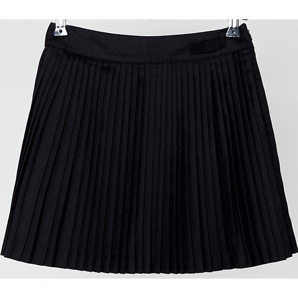 Юбка для девочки SELAЮбки<br>Юбка для девочки из коллекции осень-зима 2016-2017 от известного бренда SELA. Удобная юбка на каждый день идеальна для нового школьного сезона. Стильная школьная плиссированная юбка длинной выше колена классического черного цвета понравится как любительницам нового стиля, так и любительницам классики. В этой юбкой будут хорошо смотреться как блузки, так и свитеры или пиджаки.<br><br>Дополнительная информация:<br>- Длина: выше колен<br>- Силуэт: трапеция<br>Состав: 50% хлопок, 50% ПЭ; подкладка - 100% ПЭ<br><br>Юбку для девочек Sela можно купить в нашем интернет-магазине.<br><br>Подробнее:<br>• Для детей в возрасте: от 6 до 12 лет<br>• Номер товара: 4913338<br>Страна производитель: Китай<br><br>Ширина мм: 207<br>Глубина мм: 10<br>Высота мм: 189<br>Вес г: 183<br>Цвет: черный<br>Возраст от месяцев: 60<br>Возраст до месяцев: 72<br>Пол: Женский<br>Возраст: Детский<br>Размер: 116,152,122,128,134,146,140<br>SKU: 4913337