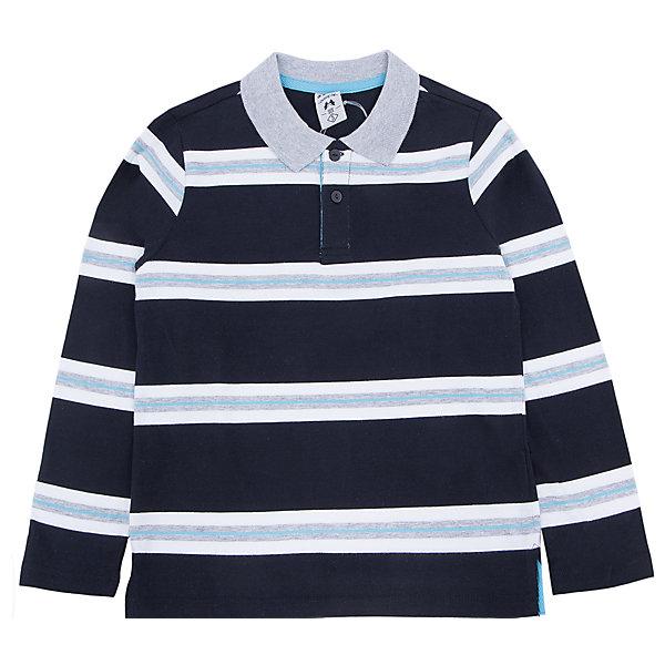 Футболка -поло с длинным рукавом  для мальчика SELAФутболки с длинным рукавом<br>Футболка -поло с длинным рукавом  для мальчика из коллекции осень-зима 2016-2017 от известного бренда SELA. Стильная и удобная хлопковая Футболка -поло с длинным рукавом на каждый день. Приятный темно-синий цвет прекрасно сочетается с серо-белыми полосками. Футболка -поло с длинным рукавом отлично подойдет как к брюкам, так и к джинсам.<br><br>Дополнительная информация:<br><br>- Рукав: длинный<br>- Силуэт: прямой<br>Состав: 100% хлопок <br><br>Футболка -поло с длинным рукавом для мальчиков Sela можно купить в нашем интернет-магазине.<br><br>Подробнее:<br>• Для детей в возрасте: от 2 до 6 лет<br>• Номер товара: 4913475<br>Страна производитель: Китай<br><br>Ширина мм: 174<br>Глубина мм: 10<br>Высота мм: 169<br>Вес г: 157<br>Цвет: синий<br>Возраст от месяцев: 48<br>Возраст до месяцев: 60<br>Пол: Мужской<br>Возраст: Детский<br>Размер: 110,98,104,92,116<br>SKU: 4913474
