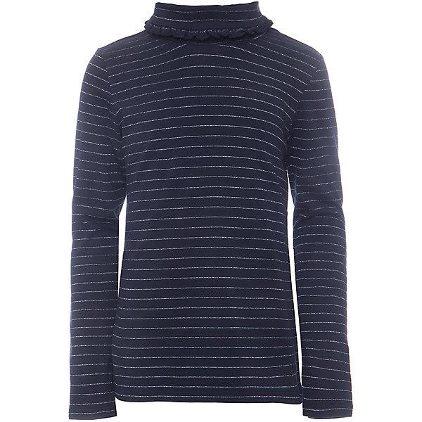 Водолазка для девочкиВодолазки<br>Водолазка для девочки из коллекции осень-зима 2016-2017 от известного бренда SELA. Удобный хлопковый джемпер на каждый день. Приятный темно-синий цвет в сочетании с темно-серыми полосочками и романтичным воротом придет по вкусу вашей моднице. Джемпер отлично подойдет к юбкам и брюкам, а также к джинсам.<br><br>Дополнительная информация:<br>- Рукав: длинный<br>- Силуэт: полуприлегающий<br>Состав: 95% хлопок 5% эластан<br><br>Джемпер для девочек Sela можно купить в нашем интернет-магазине.<br><br>Подробнее:<br>• Для детей в возрасте: от 6 до12 лет<br>• Номер товара: 4913497<br>Страна производитель: Китай<br><br>Ширина мм: 190<br>Глубина мм: 74<br>Высота мм: 229<br>Вес г: 236<br>Цвет: синий<br>Возраст от месяцев: 72<br>Возраст до месяцев: 84<br>Пол: Женский<br>Возраст: Детский<br>Размер: 122,146,128,152,116,140,134<br>SKU: 4913496