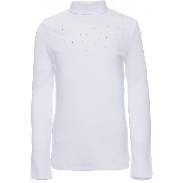 Водолазка для девочкиВодолазки<br>Водолазка для девочки из коллекции осень-зима 2016-2017 от известного бренда SELA. Удобный хлопковый джемпер на каждый день. Приятный белый цвет в сочетании с классическим дизайном придет по вкусу вашей моднице. Джемпер отлично подойдет к юбкам и брюкам, а также к джинсам.<br><br>Дополнительная информация:<br>- Рукав: длинный<br>- Силуэт: полуприлегающий<br>Состав: 95% хлопок 5% эластан<br><br>Джемпер для девочек Sela можно купить в нашем интернет-магазине.<br><br>Подробнее:<br>• Для детей в возрасте: от 6 до12 лет<br>• Номер товара: 4913513<br>Страна производитель: Китай<br><br>Ширина мм: 190<br>Глубина мм: 74<br>Высота мм: 229<br>Вес г: 236<br>Цвет: белый<br>Возраст от месяцев: 72<br>Возраст до месяцев: 84<br>Пол: Женский<br>Возраст: Детский<br>Размер: 122,134,140,146,128,116,152<br>SKU: 4913512