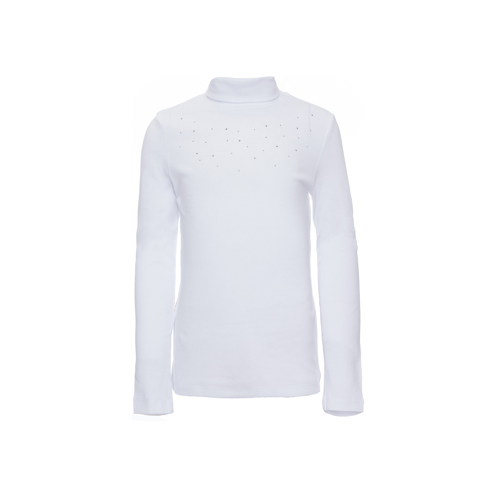 Водолазка для девочкиВодолазки<br>Водолазка для девочки из коллекции осень-зима 2016-2017 от известного бренда SELA. Удобный хлопковый джемпер на каждый день. Приятный белый цвет в сочетании с классическим дизайном придет по вкусу вашей моднице. Джемпер отлично подойдет к юбкам и брюкам, а также к джинсам.<br><br>Дополнительная информация:<br>- Рукав: длинный<br>- Силуэт: полуприлегающий<br>Состав: 95% хлопок 5% эластан<br><br>Джемпер для девочек Sela можно купить в нашем интернет-магазине.<br><br>Подробнее:<br>• Для детей в возрасте: от 6 до12 лет<br>• Номер товара: 4913513<br>Страна производитель: Китай<br><br>Ширина мм: 190<br>Глубина мм: 74<br>Высота мм: 229<br>Вес г: 236<br>Цвет: белый<br>Возраст от месяцев: 60<br>Возраст до месяцев: 72<br>Пол: Женский<br>Возраст: Детский<br>Размер: 116,128,134,152,122,140,146<br>SKU: 4913512