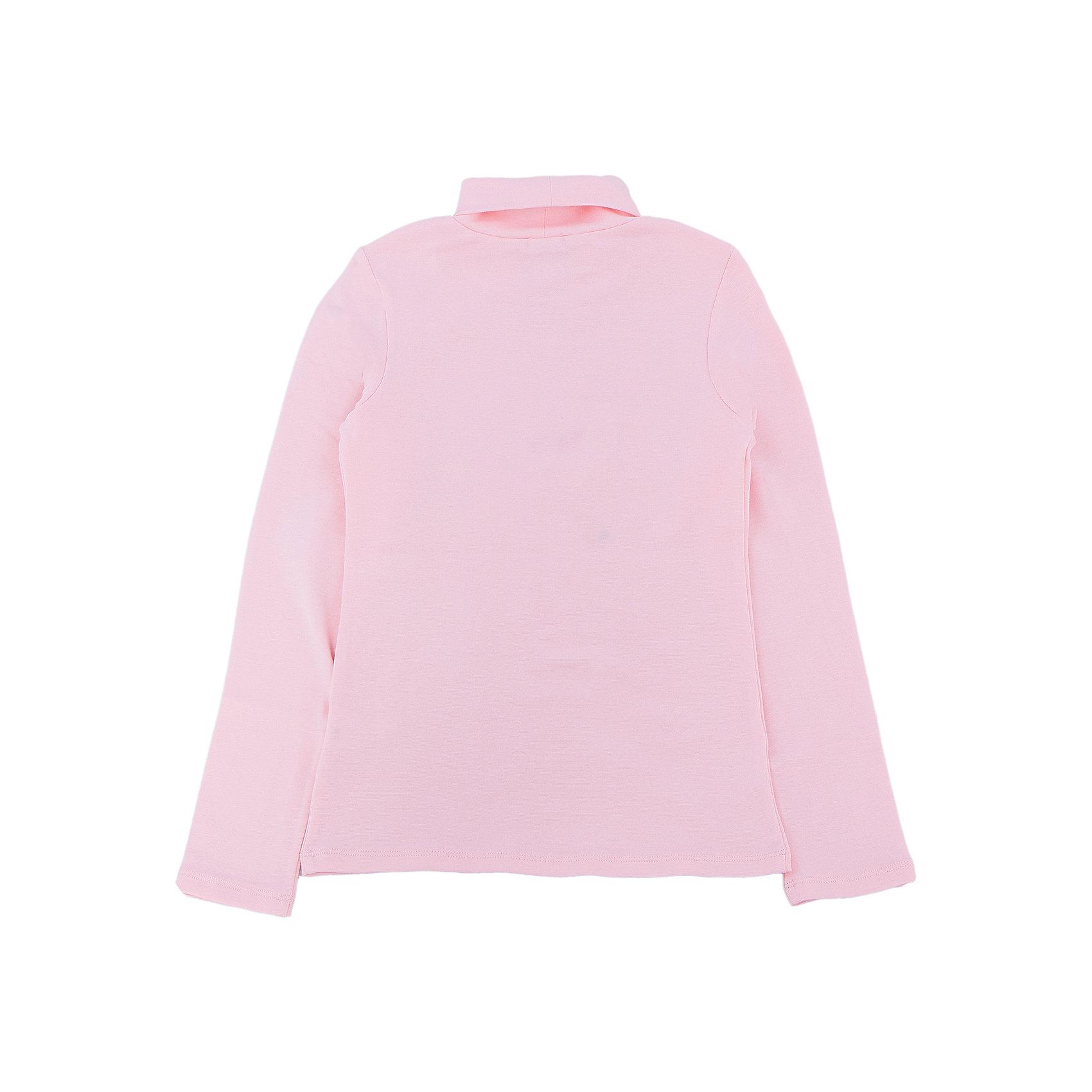 SELA Водолазка для девочки водолазка для девочки barkito саванна бело розовый в полоску