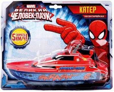 Играем вместе Катер, Человек-Паук