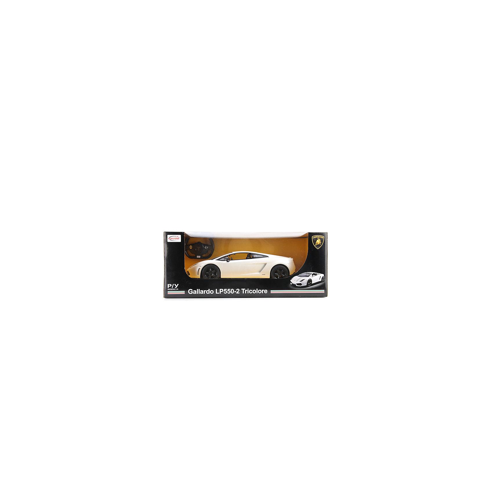 Машина р/у Lamborghini gallardo lp550-2, масштаб 1:10Спортивные машины обожает множество современных мальчишек, поэтому машина Lamborghini gallardo lp550-2, выглядящая почти как настоящая, обязательно порадует ребенка. Такие игрушки помогают детям развивать воображение, мелкую моторику, логику и творческое мышление.<br>Машина прекрасно детализирована, она сделана в масштабе 1:10, двигается с помощью аккумулятора и радиоуправления. Игрушка двигается вправо, влево, вперёд, назад. На ней включаются фары и фонарь заднего хода. С такой машиной можно придумать множество игр!<br><br>Дополнительная информация:<br><br>цвет: черный, белый;<br>размер коробки: 25 х 24 х 58 см;<br>вес: 2950 г;<br>материал: металл, пластик;<br>световые эффекты.<br><br>Машину р/у Lamborghini gallardo lp550-2, масштаб 1:10 можно купить в нашем магазине<br><br>Ширина мм: 250<br>Глубина мм: 240<br>Высота мм: 580<br>Вес г: 2950<br>Возраст от месяцев: 36<br>Возраст до месяцев: 60<br>Пол: Мужской<br>Возраст: Детский<br>SKU: 4913602