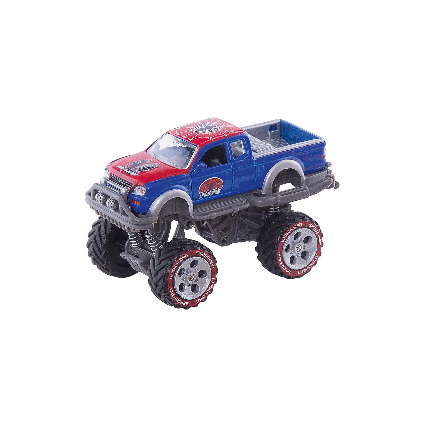 Машина, Человек-Паук