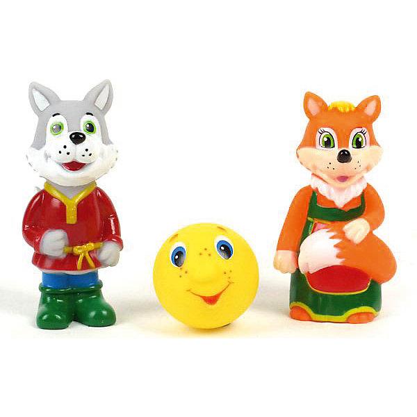 Набор для купания Лиса, Волк и КолобокИгрушки для ванной<br>Кто из малышей не любит плескаться в ванне?! Сделать купание веселее помогут игрушки в форме героев сказки про Колобка, этот набор обязательно порадует ребенка. Такие игрушки помогают детям развивать воображение, мелкую моторику, логику и творческое мышление.<br>Игрушки абсолютно безопасны для ребенка, сделаны из качественных материалов, легко моются. В них можно набирать воду и брызгаться струёй воды. В наборе - три игрушки: Лиса, Волк и Колобок. <br><br>Дополнительная информация:<br><br>цвет: разноцветный;<br>размер коробки: 5 х 21 х 13 см;<br>вес: 100 г;<br>материал: ПВХ;<br>комплектация: 3 игрушки.<br><br>Набор для купания Лиса, Волк и Колобок можно купить в нашем магазине.<br><br>Ширина мм: 50<br>Глубина мм: 210<br>Высота мм: 130<br>Вес г: 100<br>Возраст от месяцев: 6<br>Возраст до месяцев: 48<br>Пол: Унисекс<br>Возраст: Детский<br>SKU: 4913633