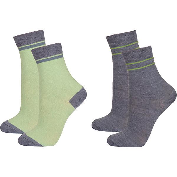Носки: 2 пары  JanusФлис и термобелье<br>Характеристики товара:<br><br>• цвет: зеленый<br>• комплектация: 2 пары<br>• состав ткани: 60% шерсть мериноса, 38% полиамид, 2% эластан<br>• подкладка: нет<br>• сезон: зима<br>• застежка: нет<br>• страна бренда: Норвегия<br>• страна изготовитель: Норвегия<br><br>Такие детские носки эффективно согревают ноги ребенка. Благодаря мягкой резинке эти носки для детей не давят на ногу. Детские носки сделаны из мягкого материала, содержащего натуральную шерсть мериноса. Шерстяные носки для детей отлично подходят для ношения в холодную погоду. <br><br>Носки: 2 пары Janus (Янус) можно купить в нашем интернет-магазине.<br>Ширина мм: 87; Глубина мм: 10; Высота мм: 105; Вес г: 115; Цвет: зеленый; Возраст от месяцев: 9; Возраст до месяцев: 24; Пол: Унисекс; Возраст: Детский; Размер: 20-24,30-34,35-39,25-29; SKU: 4913841;