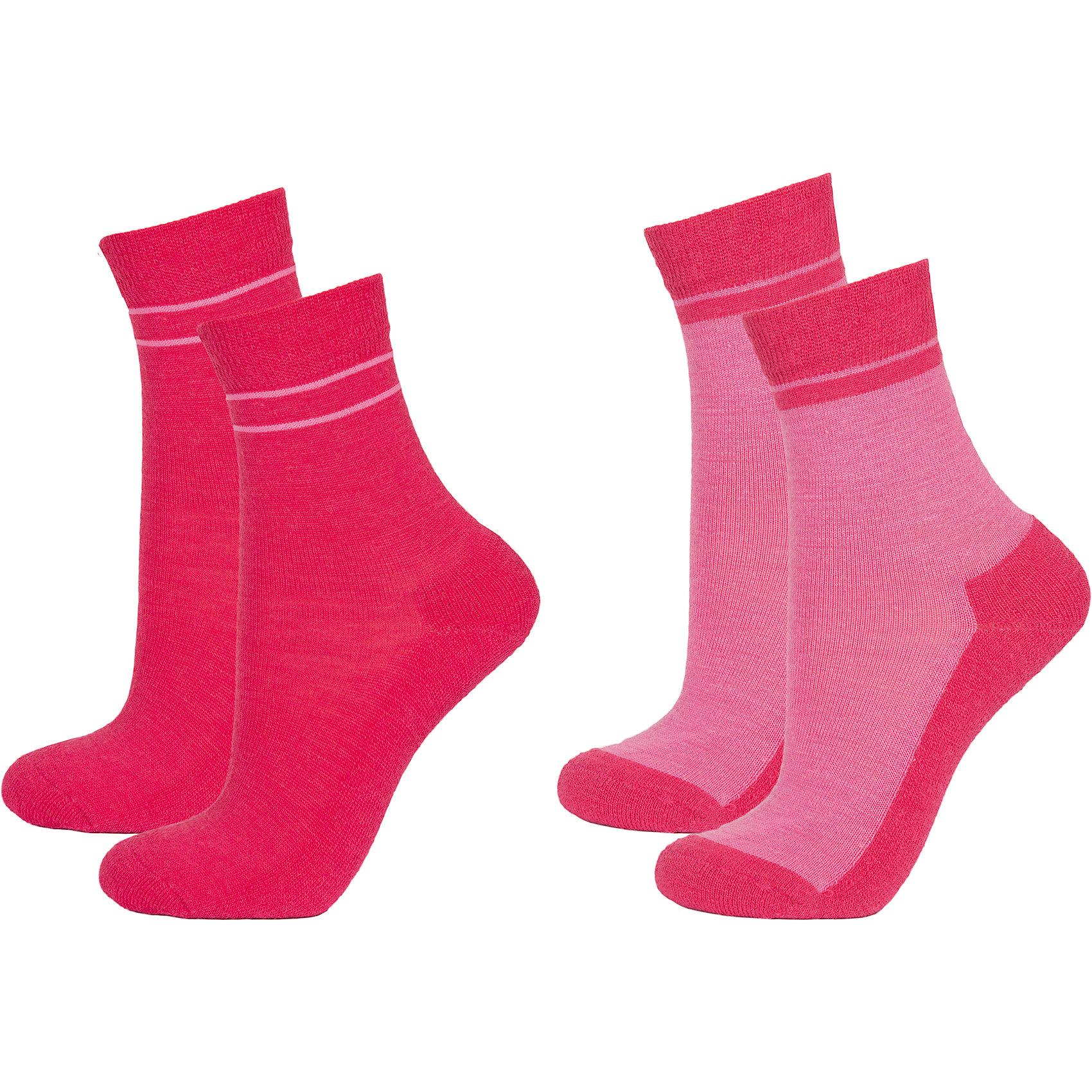 Носки: 2 пары  для девочки JanusНоски: 2 пары  для девочки известной марки Janus.<br><br>Теплые и мягкие махровые носочки Janus из  шерсти мериноса подарят тепло и комфорт вашему малышу, согревая его ножки в любую погоду. Две пары носочков с махровой вязкой на ступне идеальны для длительных прогулок в осенне-зимний сезон. Между махровыми петельками создается воздушная прослойка, обеспечивающая дополнительное тепло, а значит, в таких носках ребенок не замерзнет и не простудится даже в самый сильный мороз.<br><br>Уникальные антиаллергенные свойства мериносовой шерсти позволяют надевать носочки Janus на голую ногу, не вызывая раздражения кожи. Мягкий, приятный на ощупь и легкий в уходе материал позволит ребенку чувствовать себя комфортно и дома, и на прогулке. <br><br>Состав: 68% шерсть, 30% полиамид, 2% эластан<br><br>Ширина мм: 87<br>Глубина мм: 10<br>Высота мм: 105<br>Вес г: 115<br>Цвет: розовый<br>Возраст от месяцев: 132<br>Возраст до месяцев: 168<br>Пол: Женский<br>Возраст: Детский<br>Размер: 35-39,30-34,20-24,25-29<br>SKU: 4913846