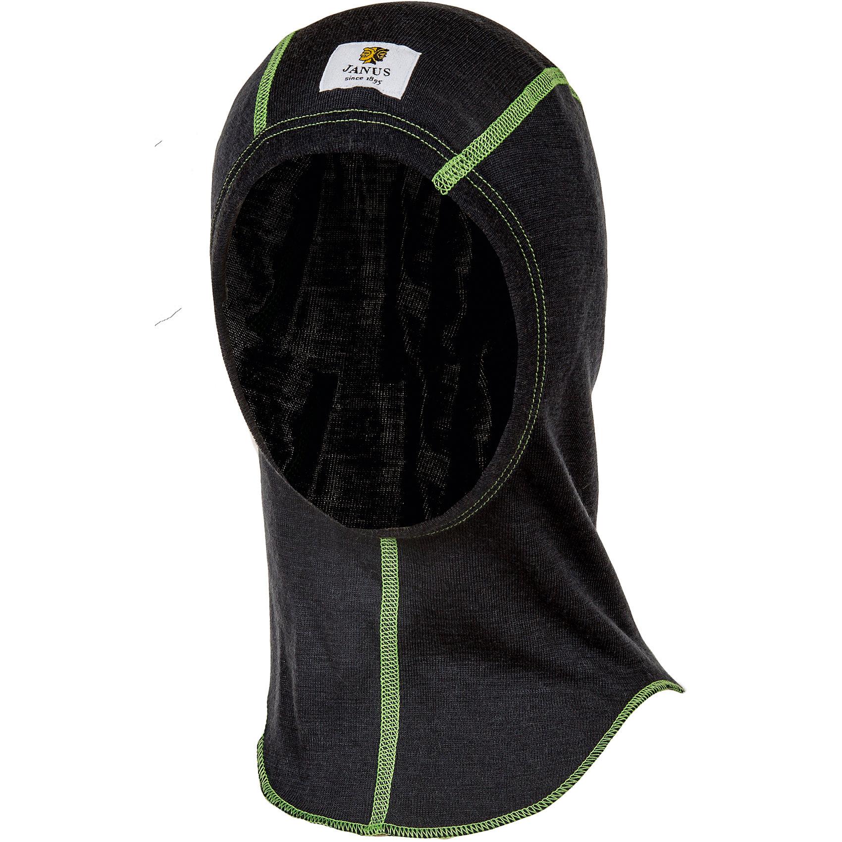 Шлем JanusФлис и термобелье<br>Шлем известной марки Janus.<br><br>Тонкий шлем-балаклава из 100% шерсти мериноса, который поддевается под все виды осенней и зимней одежды. Выполненный из целебной шерсти овец мериносов, он будет не только сохранять тепло, но оказывать лечебное воздействие на ушки и горло ребенка, которые часто подвергаются болезням в холодное время года.<br><br>Состав: 100% шерсть мериноса<br><br>Ширина мм: 89<br>Глубина мм: 117<br>Высота мм: 44<br>Вес г: 155<br>Цвет: бордовый<br>Возраст от месяцев: 48<br>Возраст до месяцев: 72<br>Пол: Мужской<br>Возраст: Детский<br>Размер: 51-53,53-55<br>SKU: 4913986