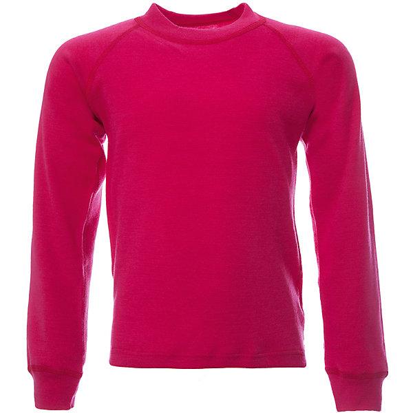 Футболка с длинным рукавом для девочки JanusФлис и термобелье<br>Характеристики товара:<br><br>• цвет: розовый<br>• состав ткани: 100% шерсть мериноса<br>• подкладка: нет<br>• сезон: зима<br>• длинные рукава<br>• страна бренда: Норвегия<br>• страна изготовитель: Норвегия<br><br>Яркая термофутболка декорирована логотипом. Качественная натуральная шерсть мериноса приятна на ощупь не вызывает аллергии. Материал футболки с длинным рукавом для детей позволяет коже дышать и впитывает лишнюю влагу. Шерсть мериноса делает футболки для ребенка очень комфортными. <br><br>Футболку с длинным рукавом Janus (Янус) для девочки можно купить в нашем интернет-магазине.<br>Ширина мм: 190; Глубина мм: 74; Высота мм: 229; Вес г: 236; Цвет: розовый; Возраст от месяцев: 96; Возраст до месяцев: 108; Пол: Женский; Возраст: Детский; Размер: 130,90,140,110,120,100; SKU: 4914048;