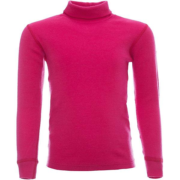 Водолазка для девочки JanusФлис и термобелье<br>Характеристики товара:<br><br>• цвет: красный<br>• состав ткани: 100% шерсть мериноса<br>• подкладка: нет<br>• сезон: зима<br>• длинные рукава<br>• страна бренда: Норвегия<br>• страна изготовитель: Норвегия<br><br>Натуральная шерсть мериноса приятна на ощупь не вызывает аллергии. Материал водолазки для детей позволяет коже дышать и впитывает лишнюю влагу. Шерсть мериноса делает водолазку для ребенка очень комфортной и теплой. Удобная термоводолазка стильно смотрится. <br><br>Водолазку Janus (Янус) для девочки можно купить в нашем интернет-магазине.<br>Ширина мм: 190; Глубина мм: 74; Высота мм: 229; Вес г: 236; Цвет: розовый; Возраст от месяцев: 48; Возраст до месяцев: 60; Пол: Женский; Возраст: Детский; Размер: 110,90,100,120,130,140; SKU: 4914069;