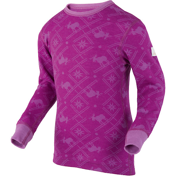 Футболка для девочки JanusФутболки с длинным рукавом<br>Характеристики товара:<br><br>• цвет: фиолетовый<br>• состав ткани: 80% шерсть мериноса, 20% полиамид<br>• подкладка: нет<br>• сезон: зима<br>• длинные рукава<br>• страна бренда: Норвегия<br>• страна изготовитель: Норвегия<br><br>Термофутболка - это отличный способ одеть ребенка модно и комфортно. Мягкая натуральная шерсть мериноса приятна на ощупь не вызывает аллергии. Материал футболки с длинным рукавом для детей позволяет коже дышать и впитывает лишнюю влагу. Шерсть мериноса делает футболки для ребенка очень комфортными. <br><br>Футболку с длинным рукавом Janus (Янус) для девочки можно купить в нашем интернет-магазине.<br>Ширина мм: 230; Глубина мм: 40; Высота мм: 220; Вес г: 250; Цвет: лиловый; Возраст от месяцев: 48; Возраст до месяцев: 60; Пол: Женский; Возраст: Детский; Размер: 110,90,140,130,120; SKU: 4914082;