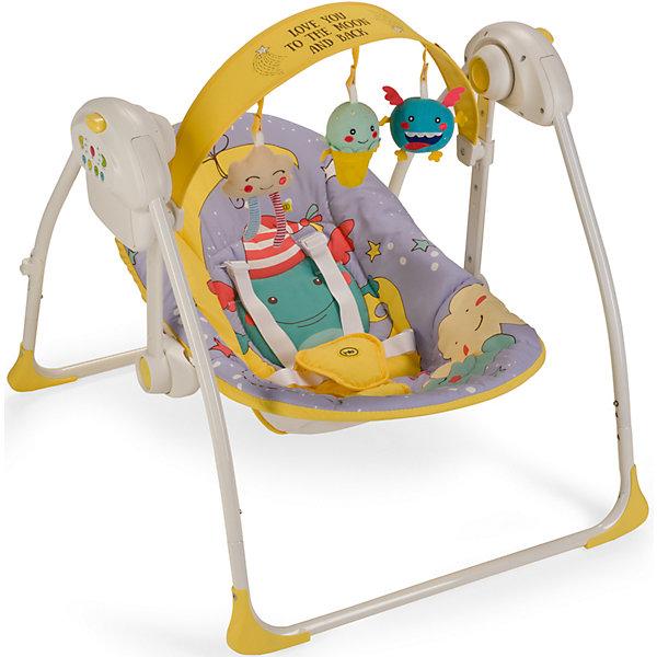 Электрокачели Jolly, Happy Baby, фиолетовый