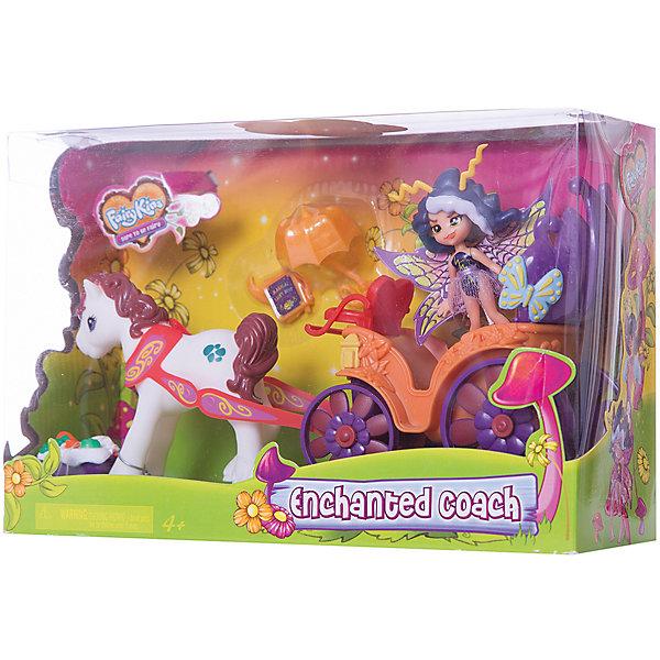 Набор: Фея Вольтесса в ЛандоКуклы<br>Игровой набор для девочек Lanard «Фея Вольтесса в Ландо»<br><br>Характеристики: <br><br>• высота куколки: 9 см;<br>• фея может принимать положение «сидя»;<br>• в комплект входит фигурка лошадки и экипаж открытого типа с местом для сиденья феи;<br>• дополнтительные аксессуары помогают разнообразить игру: корзинка для пикника, зонтик, книга;<br>• размеры упаковки: 25,4х8,89х16,51 см.<br><br>Озорная фея Вольтесса собралась на пикник. Ее сопровождает надежный друг, белокурый конь, который запряжен в ландо (открытую повозку). На свежем воздухе можно перекусить, ведь фея приготовила корзинку для пикника, в которой есть много вкусняшек. <br><br>Набор: Фея Вольтесса в Ландо можно купить в нашем интернет-магазине.<br>Ширина мм: 17; Глубина мм: 9; Высота мм: 25; Вес г: 340; Возраст от месяцев: 36; Возраст до месяцев: 2147483647; Пол: Женский; Возраст: Детский; SKU: 4914622;