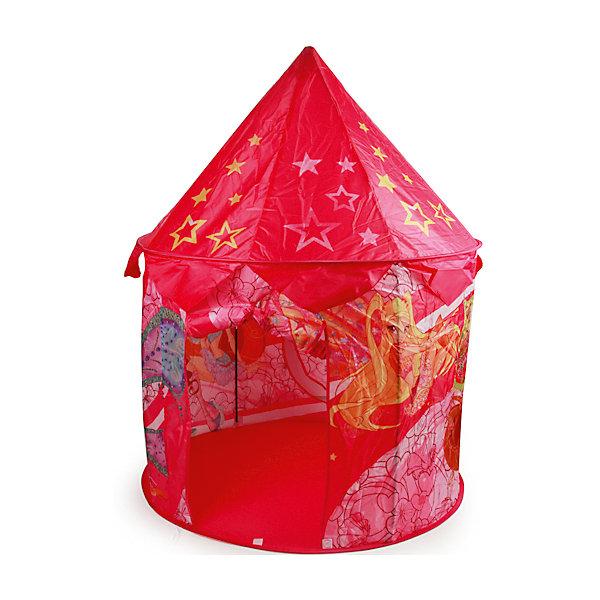 Детская игровая палатка, WinxИгровые центры<br>Многие дети обожают играть в собственных небольших домиках. Сделать это занятие веселее помогут герои из мультфильма про фей Winx. Яркая игровая палатка с их изображением станет отличным пространством для игр.<br>Эта палатка обязательно порадует ребенка! Прочный и легкий каркас обеспечит быстроту сборки палатки. Она сделана из качественных и безопасных для ребенка материалов.<br><br>Дополнительная информация:<br><br>цвет: розовый;<br>размер упаковки: 48 x 48 x 5 см;<br>вес: 1000 г;<br>материал: металл, текстиль.<br><br>Детскую игровую палатку, Winx можно купить в нашем магазине.<br><br>Ширина мм: 400<br>Глубина мм: 480<br>Высота мм: 480<br>Вес г: 1000<br>Возраст от месяцев: 6<br>Возраст до месяцев: 36<br>Пол: Женский<br>Возраст: Детский<br>SKU: 4915044