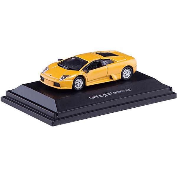 Машины 1:87 Lamborghini MurcielagoКатя и Мим-Мим<br>Машины 1:87 Lamborghini Murcielago<br><br>Характеристики:<br><br>• реалистичная копия настоящего автомобиля<br>• масштаб: 1:87<br>• размер игрушки: 6х4х2 см<br>• размер упаковки: 7,5х4,5х4 см<br>• материал: пластик, металл<br><br>Мини-копию Lamborghini Murcielago по достоинству оценит каждый коллекционер машин. Она обладает потрясающей реалистичностью и выполнена в масштабе 1:87. Корпус машинки изготовлен из металла. Lamborghini Murcielago должна быть у каждого начинающего коллекционера!<br><br>Машины 1:87 Lamborghini Murcielago вы можете купить в нашем интернет-магазине.<br>Ширина мм: 250; Глубина мм: 250; Высота мм: 200; Вес г: 750; Возраст от месяцев: 36; Возраст до месяцев: 144; Пол: Мужской; Возраст: Детский; SKU: 4915058;