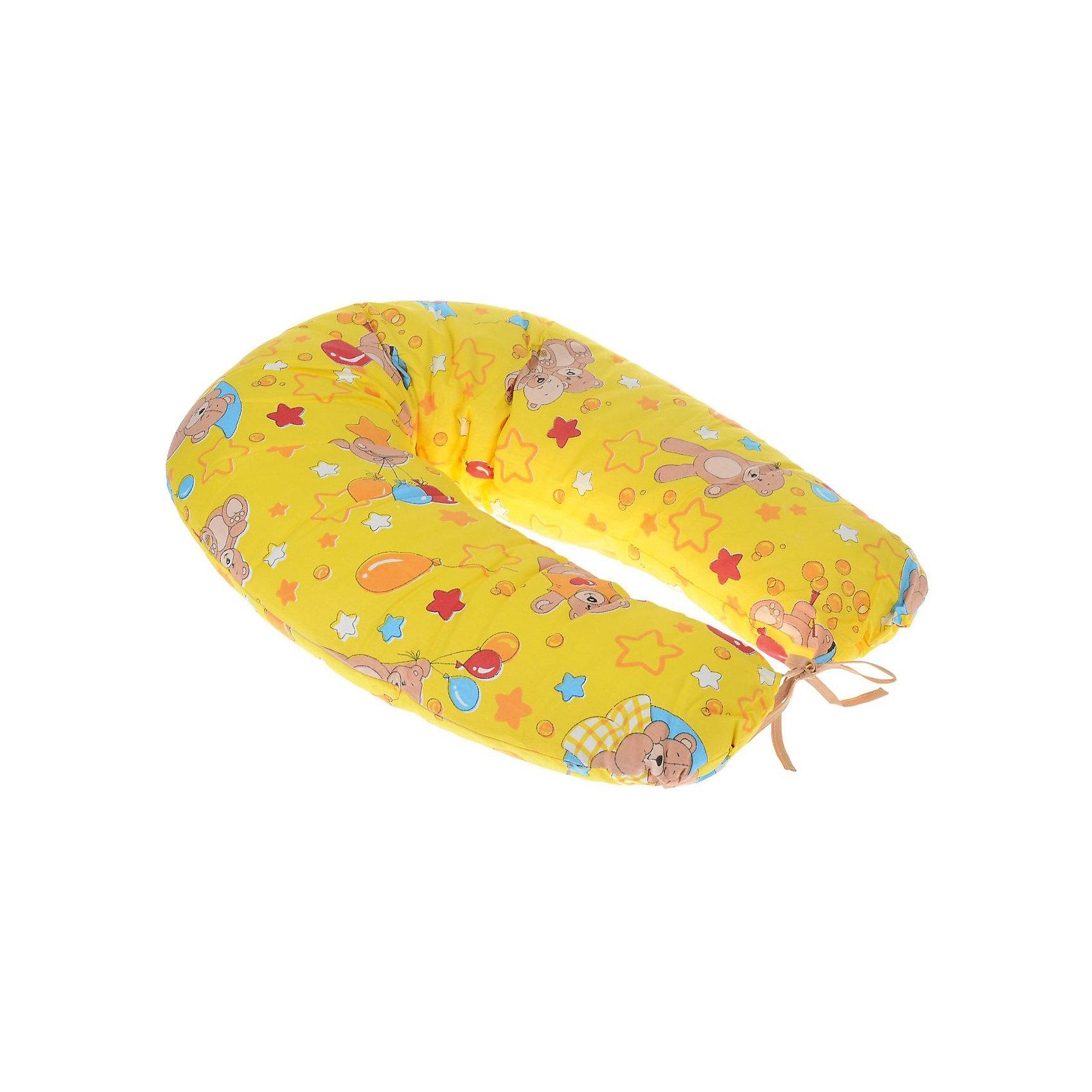 Подушка д/беременных и кормящих женщин, ФЭСТ, желтыйПодушка многофункциональная ФЭСТ обеспечивает комфорт мамы и малыша.<br>В период беременности её удобно использовать, подкладывая под живот или спину.<br>Для уменьшения нагрузки на спину, плечи, руки и шею во время кормления расположите подушку вокруг талии.<br>Для поддержания ребенка в разных положениях и зашиты его от падения следует поместить малыша в центр подушки.<br>Модель со съёмным чехлом из хлопкового полотна (цвет рисунка может отличаться от представленного на фото).<br>Размер: длина 1500 мм, ширина 250 мм<br><br>Ширина мм: 700<br>Глубина мм: 160<br>Высота мм: 490<br>Вес г: 1220<br>Возраст от месяцев: -2147483648<br>Возраст до месяцев: 2147483647<br>Пол: Женский<br>Возраст: Детский<br>SKU: 4915073
